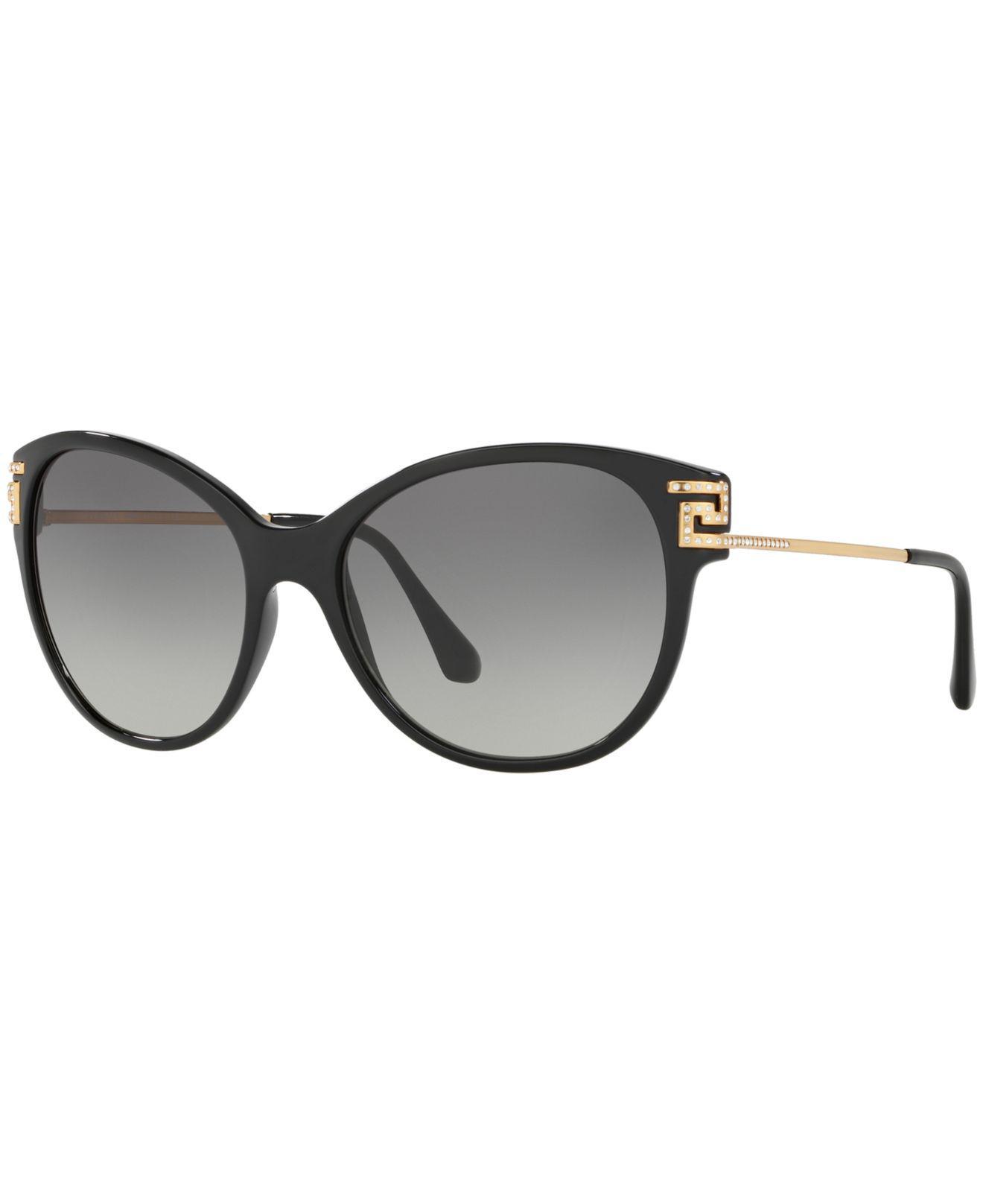 7c787fff1915 Versace. Women s Black Sunglasses ...