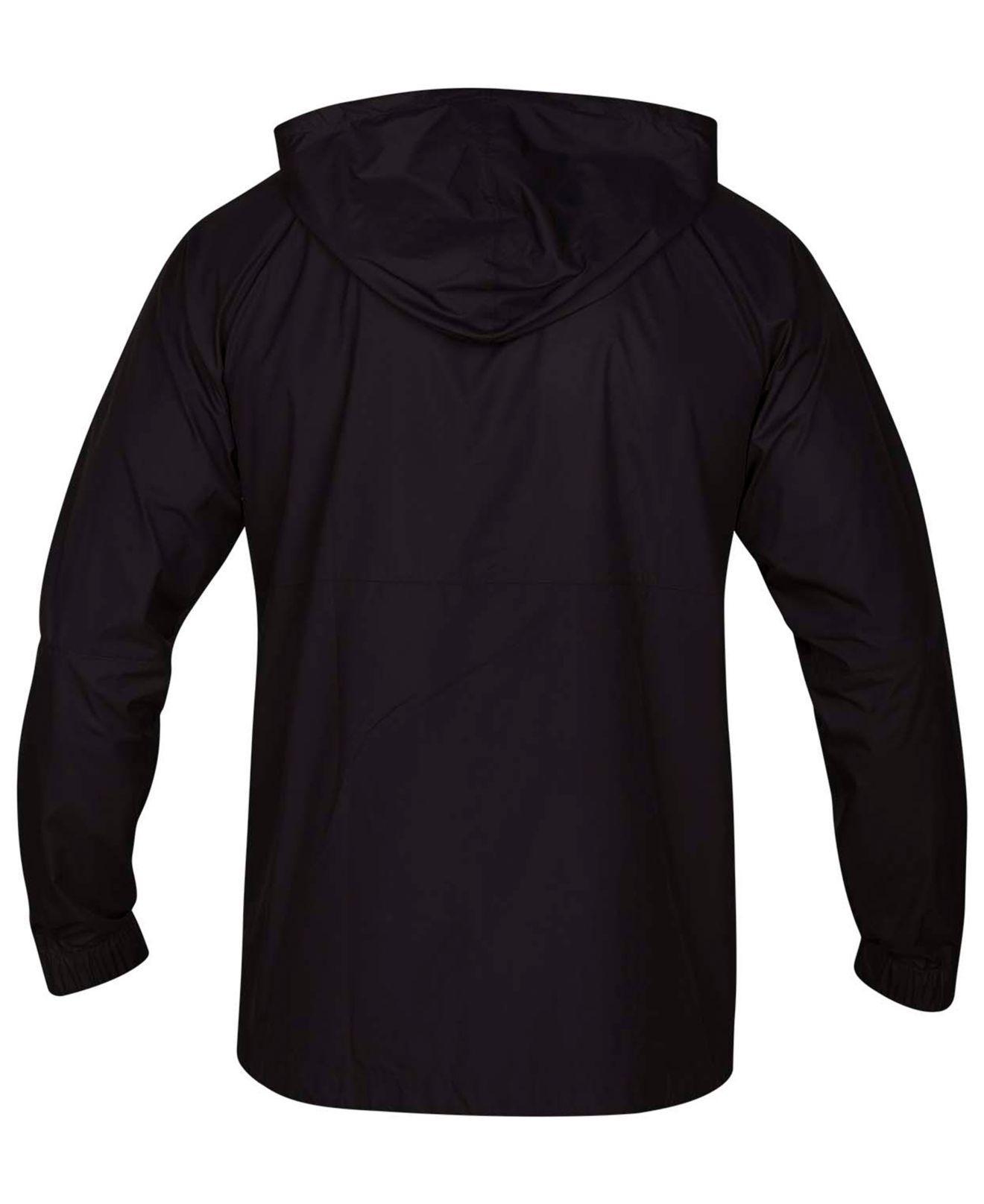 a0b00fff755 Lyst - Hurley Pistol River Full-zip Hooded Jacket in Black for Men