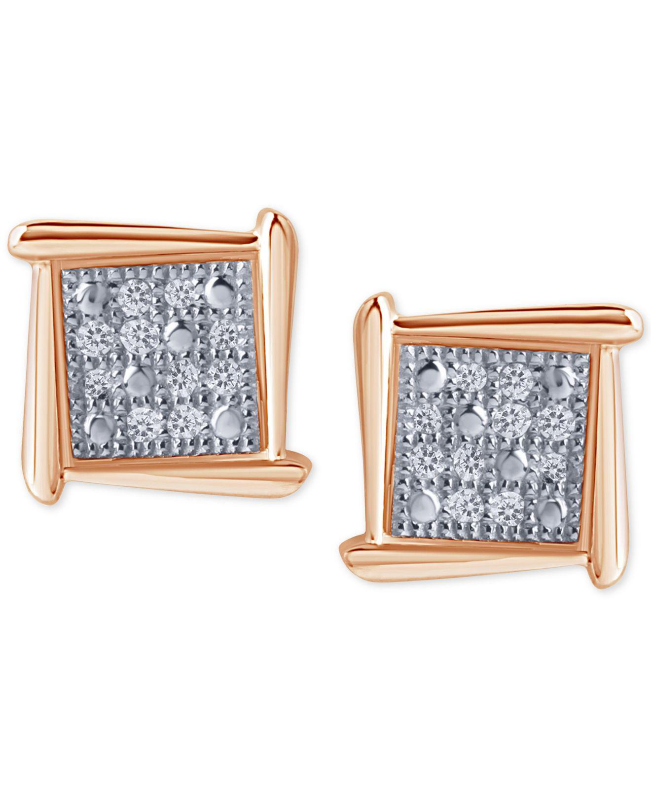 wg oval square buy yellow diamond products gold stud pave open earrings geometric