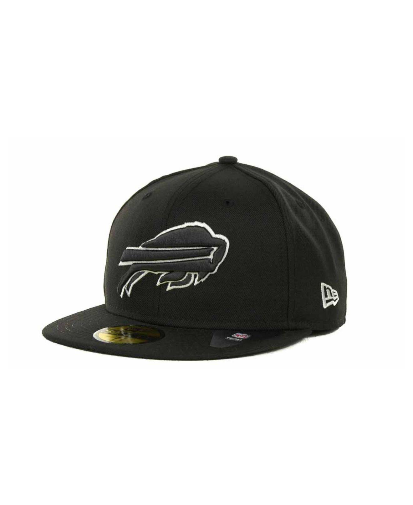 Lyst - Ktz Buffalo Bills 59fifty Cap in Black for Men 460ba0d23a07