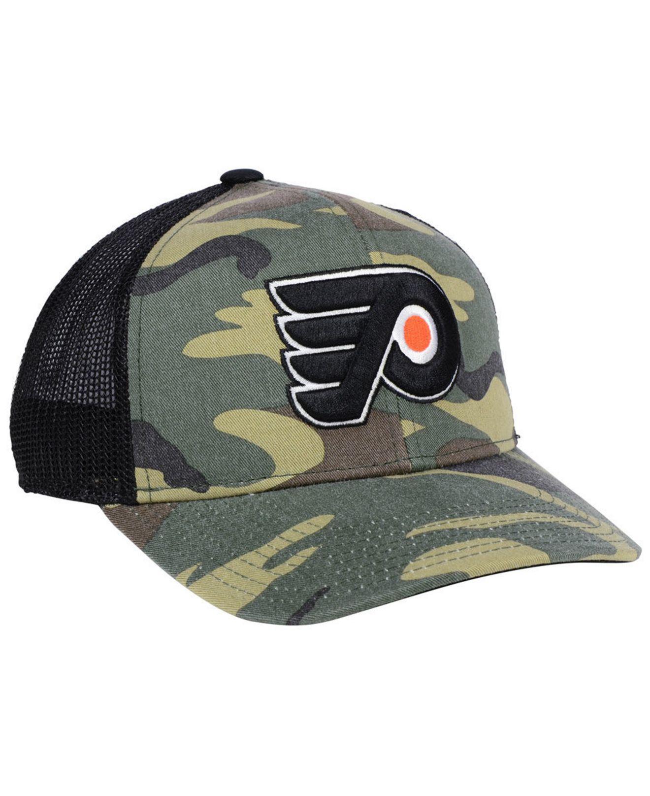 Lyst - adidas Philadelphia Flyers Camo Trucker Cap for Men 571781231ce