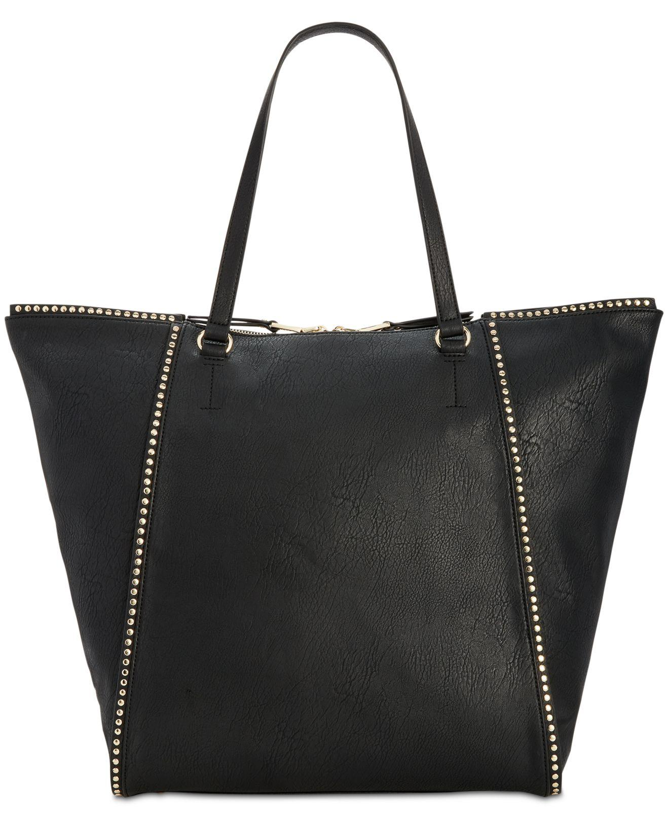 1360abe6364f INC International Concepts Hazell Studded Large Tote in Black - Lyst