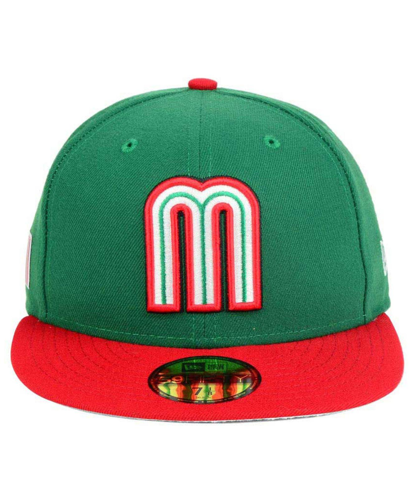 50b20aa853f09 Lyst - KTZ Mexico World Baseball Classic 59fifty Fitted Cap in Green for Men