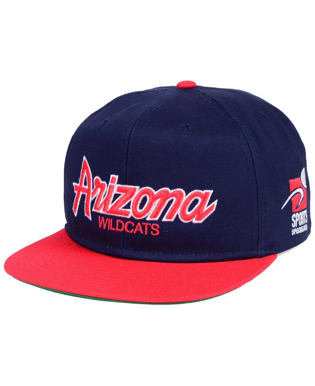 f3b84682b22 Lyst - Nike Arizona Wildcats Sport Specialties Snapback Cap in Blue ...