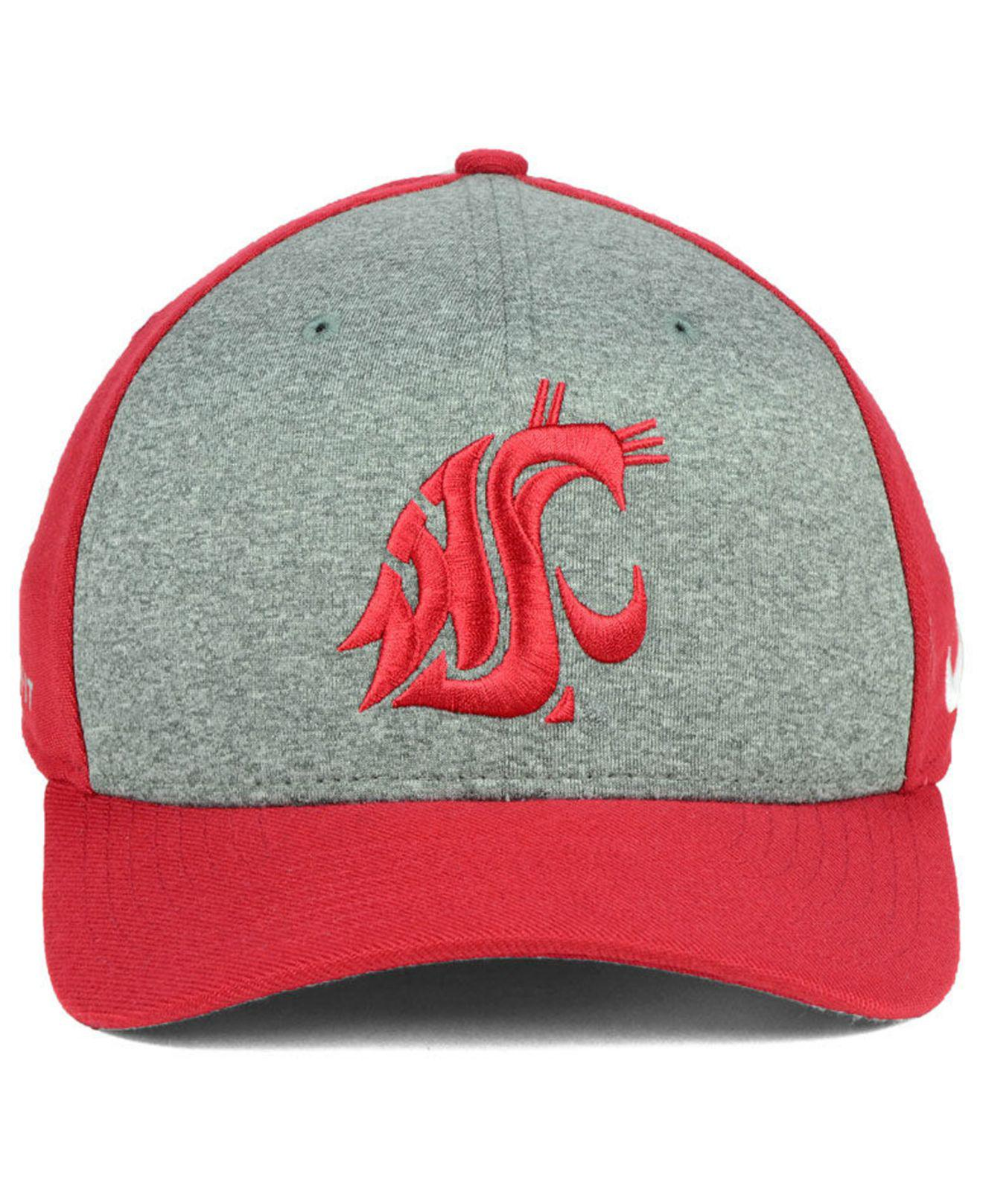 88220131f56 Lyst - Nike Washington State Cougars Legend Swooshflex Cap in Red for Men