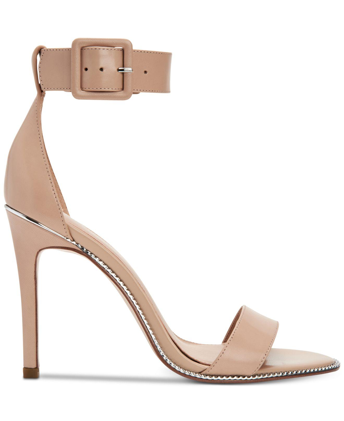 cf2caa67b8 Lyst - BCBGeneration Janet Dress Sandals in Natural