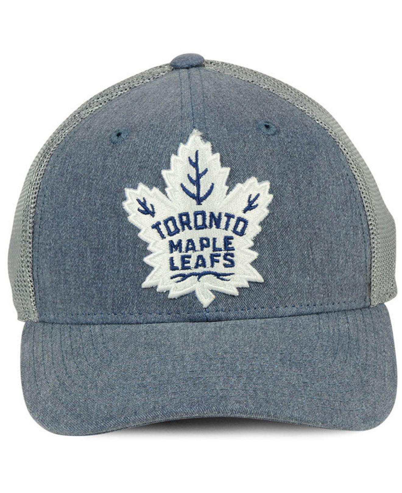 758e87b20434a ... new arrivals lyst adidas toronto maple leafs geno flex cap in blue for  men 2c647 71f21
