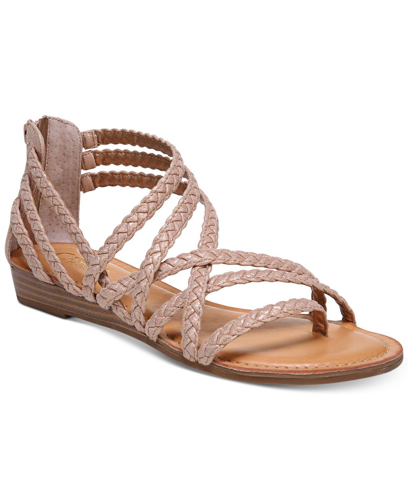 6b0e39e334e Carlos By Carlos Santana. Women s Amara Braided Flat Sandals