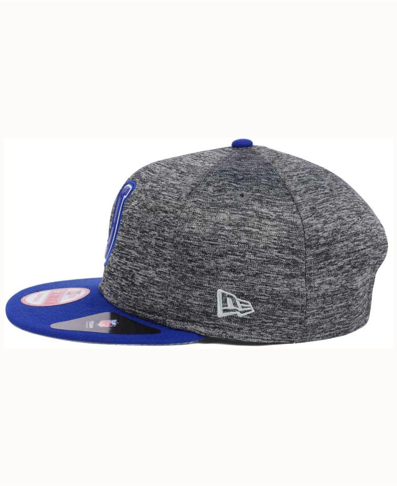 detailed look 85553 750eb ... italy shadow bevel 9fifty snapback cap for men lyst. view fullscreen  8ecee 237f1