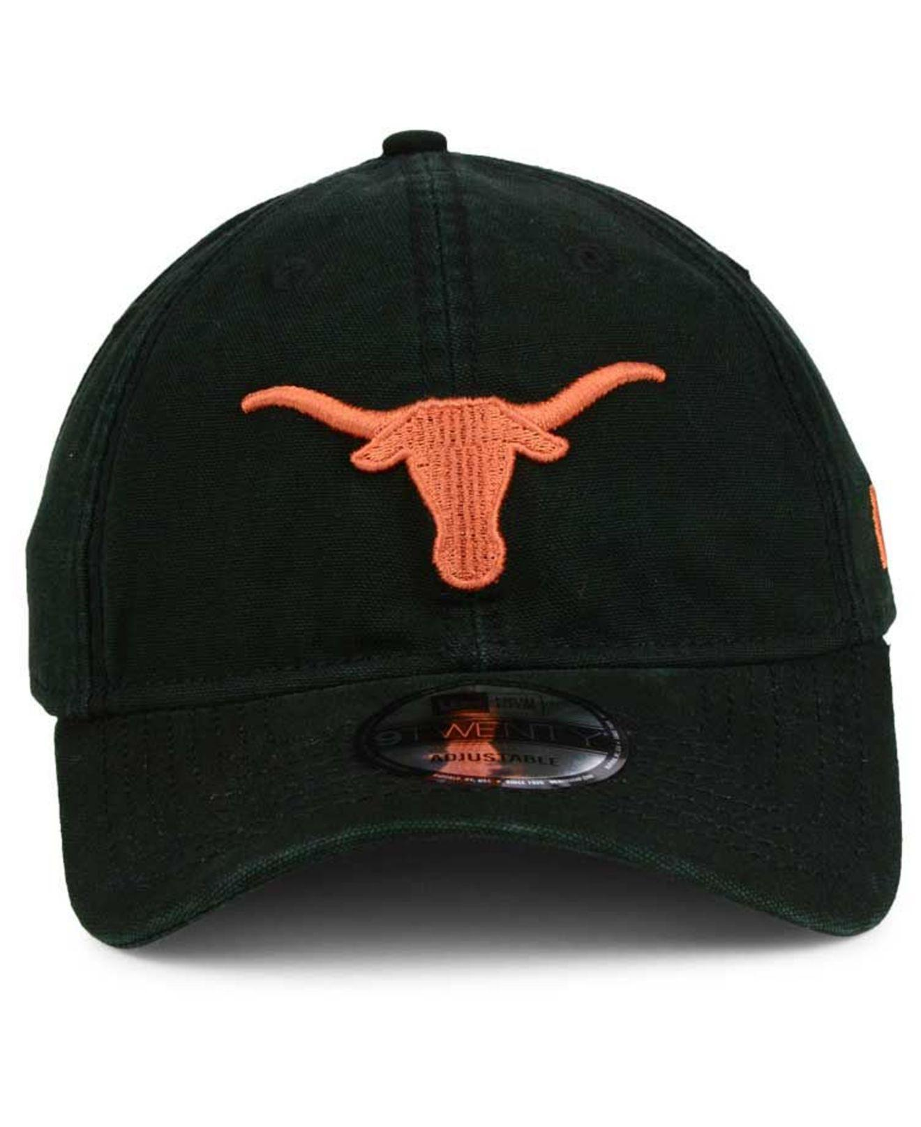 newest collection 16be5 4ab88 ... spain lyst ktz texas longhorns core standard cap in black for men 69e05  913f5