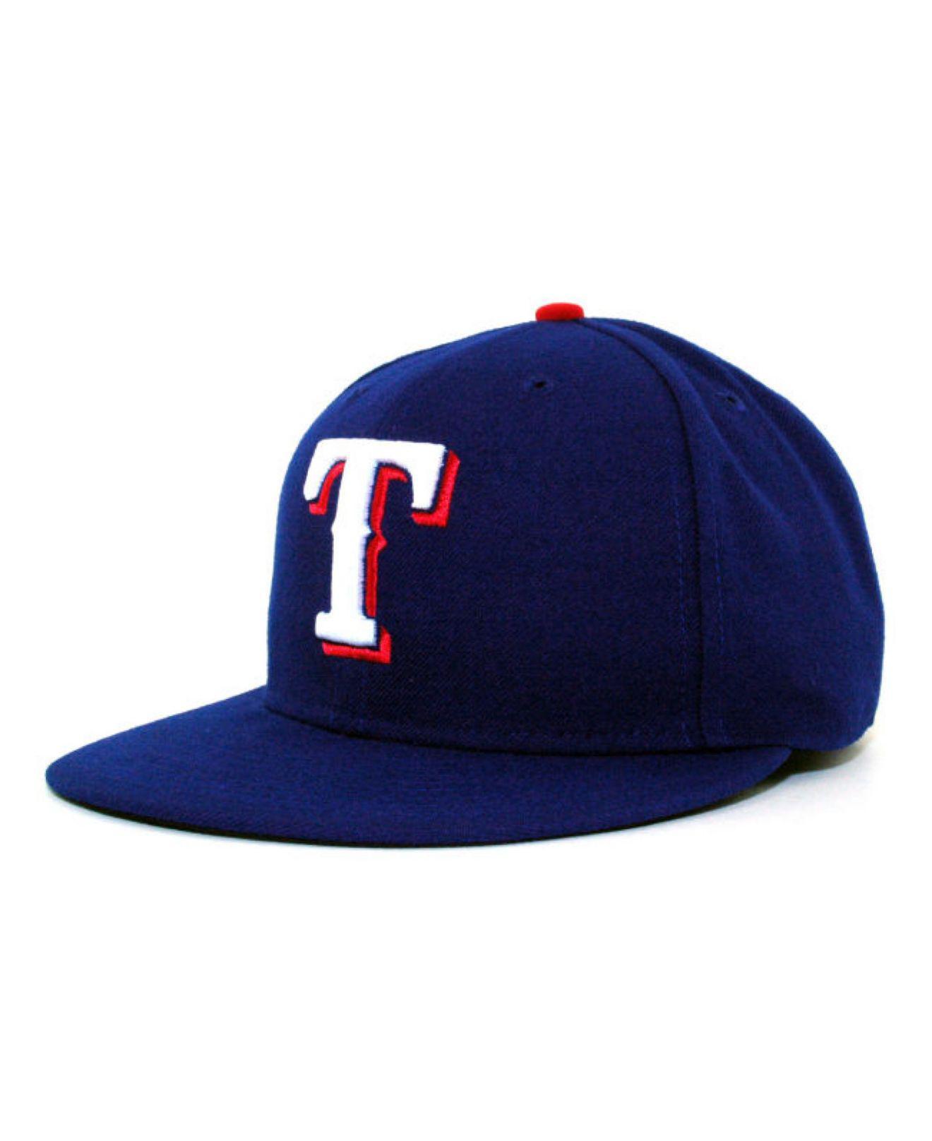 best website 1b0b3 ced46 KTZ. Men s Blue Texas Rangers Mlb Authentic Collection 59fifty Cap