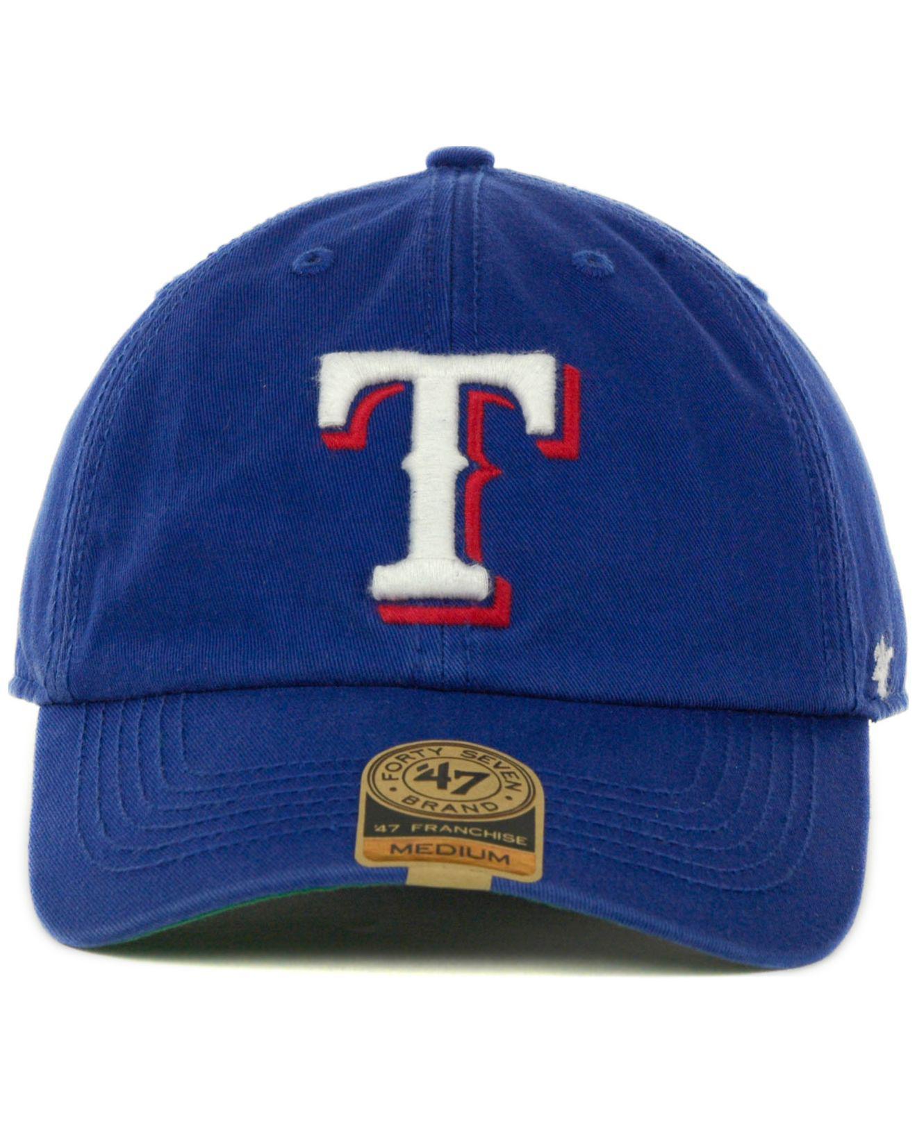 huge discount 2da6e ae59f ... promo code for lyst 47 brand texas rangers franchise cap in green for  men 3f007 5d46c