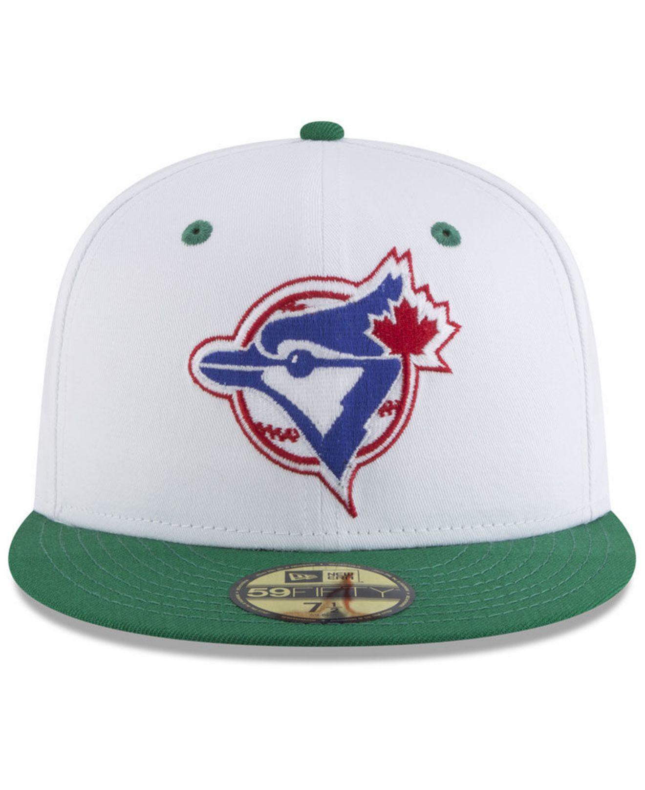 e9129e2fc2c Lyst - Ktz Toronto Blue Jays Retro Diamond 59fifty Fitted Cap for Men