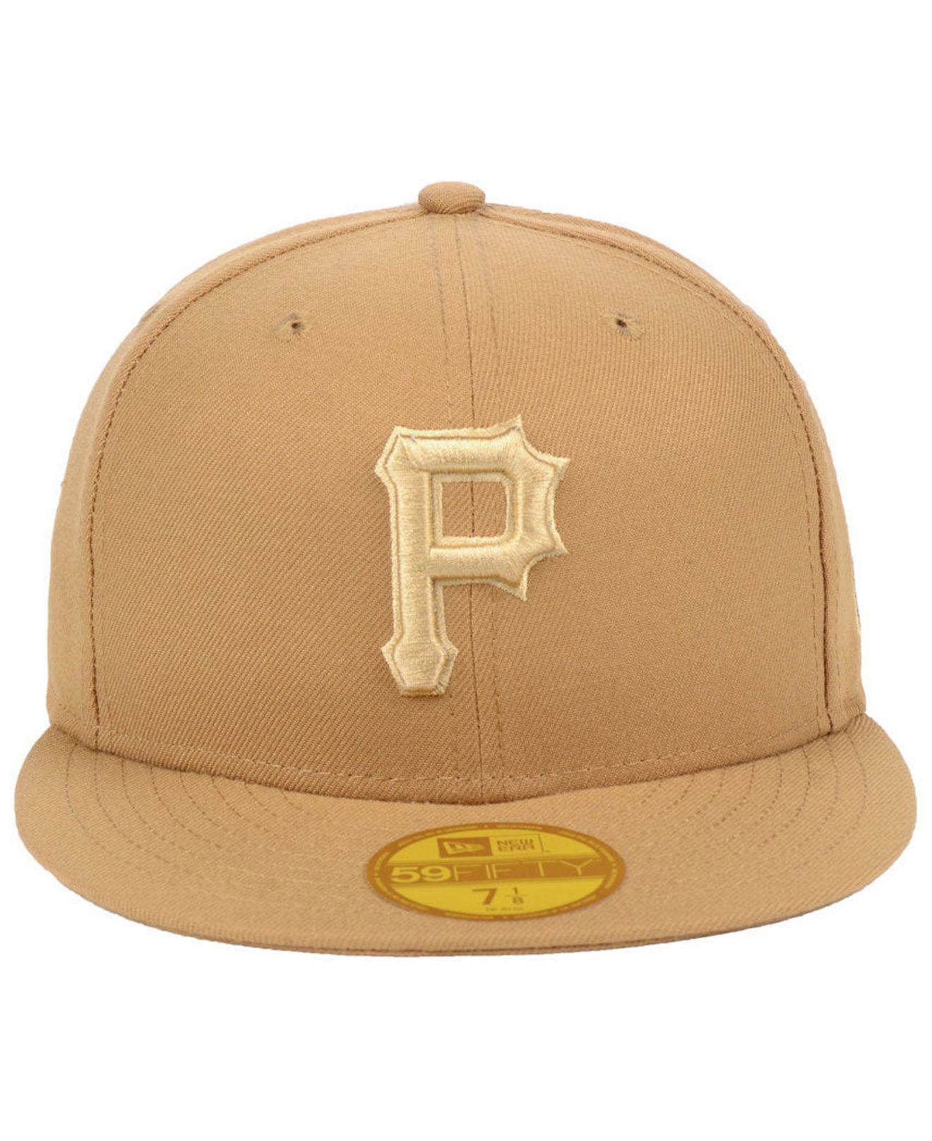 Lyst - Ktz Pittsburgh Pirates Fall Prism Pack 59fifty-fitted Cap in Natural  for Men 31acfc000