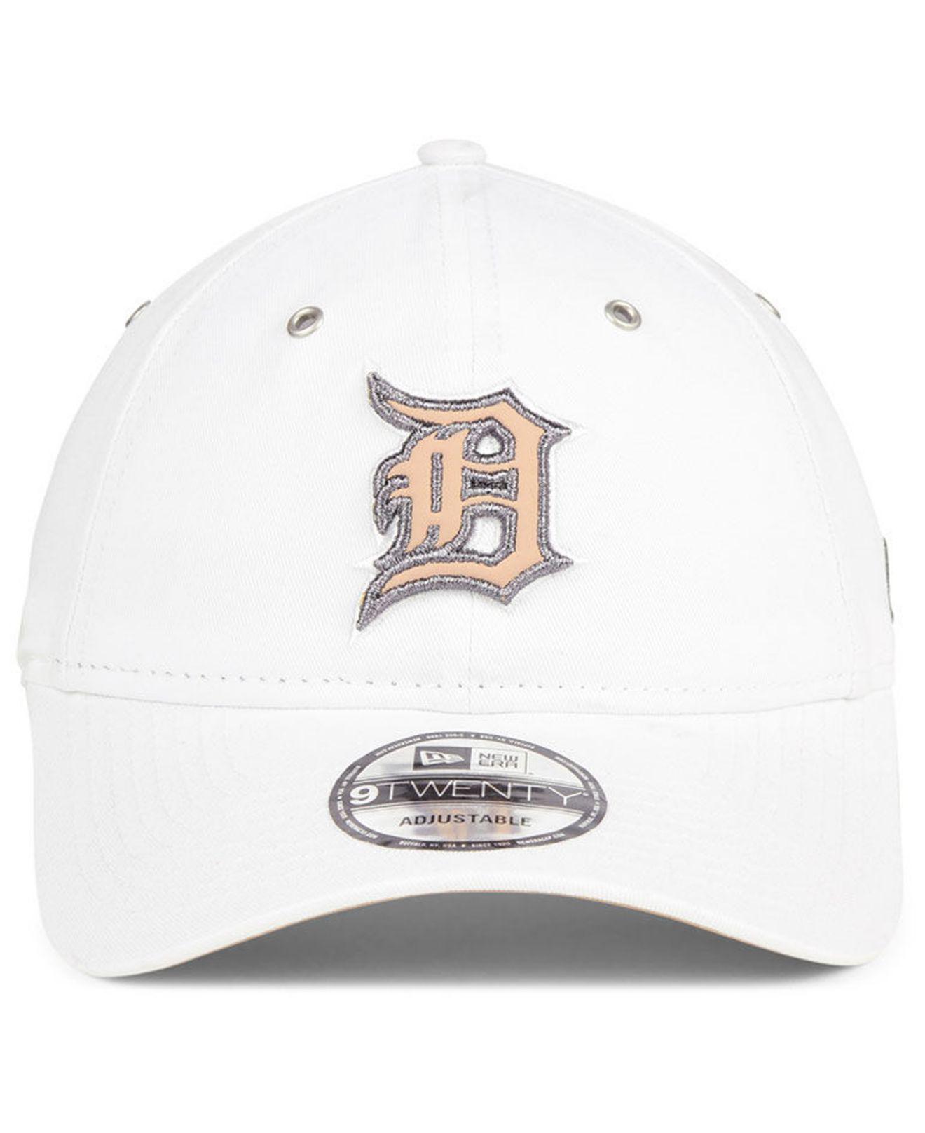 factory authentic 3b491 fabb4 Lyst - KTZ Detroit Tigers Metallic Pastel 9twenty Cap in White