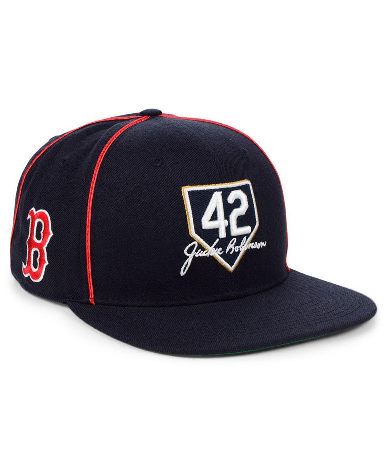 new concept 5200f 12c6d 47 Brand. Men s Blue Boston Red Sox Jackie Robinson 42 Team Snapback Cap