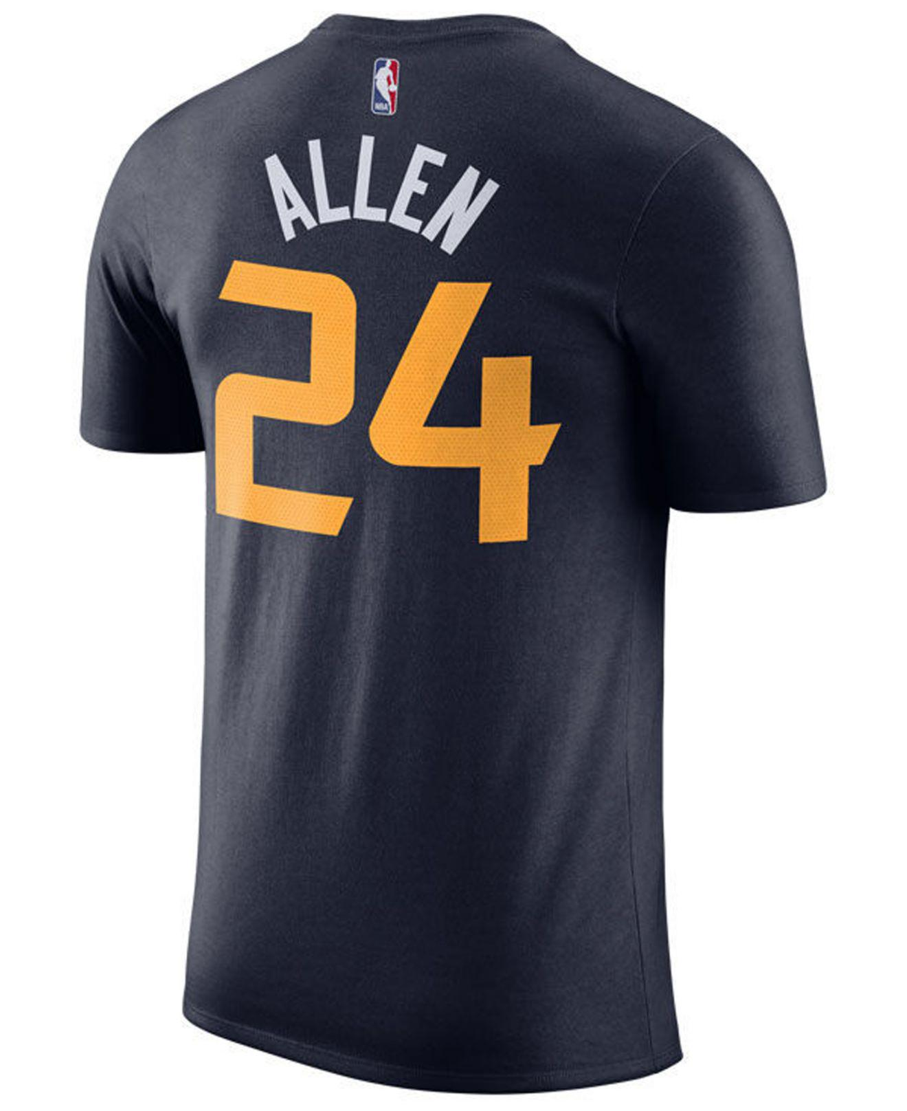 fa5e535a208 Nike Grayson Allen Utah Jazz Icon Player T-shirt in Blue for Men - Lyst