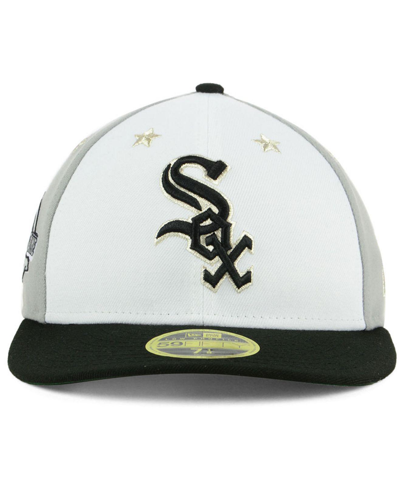brand new cb42d beddd ... spain lyst ktz chicago white sox all star game patch low profile 59fifty  fitted cap 2018