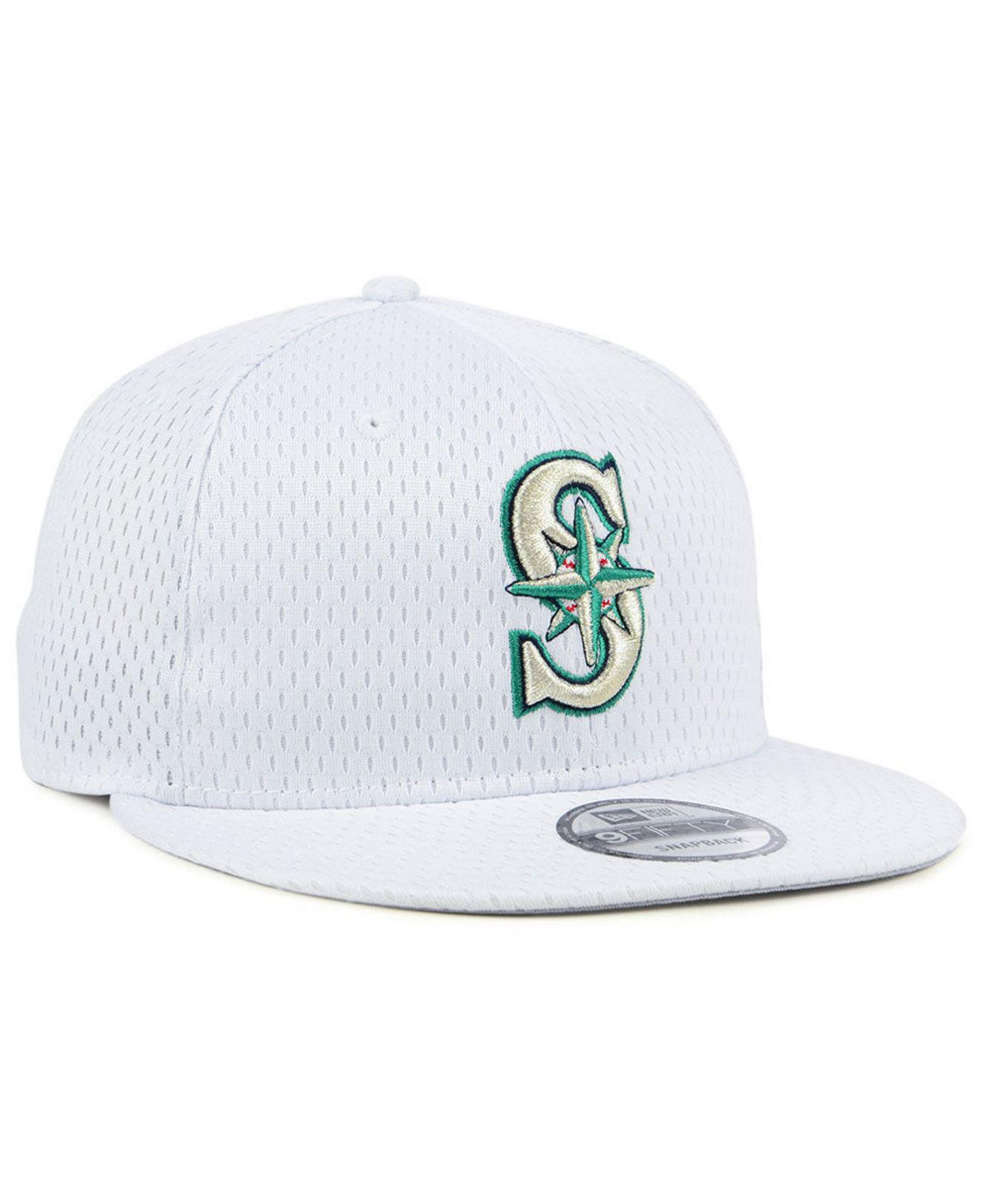 new arrival ae382 322e6 ... best seattle mariners batting practice mesh 9fifty snapback cap for men  lyst. view fullscreen 5236a