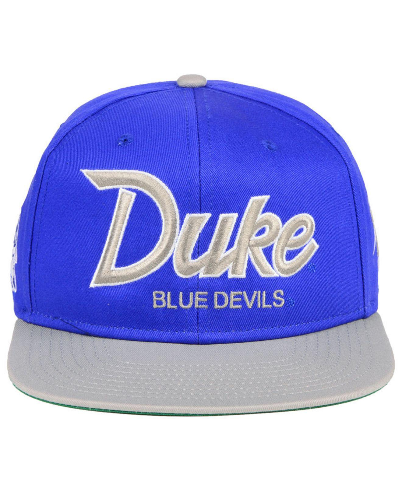 fe7dd30400f65 Lyst - Nike Duke Blue Devils Sport Specialties Snapback Cap in Blue ...