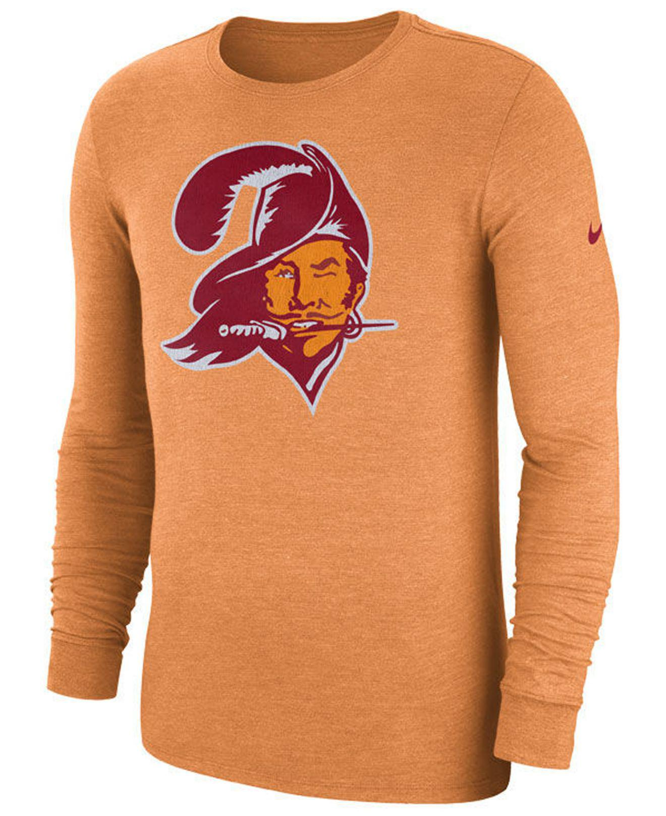 Lyst - Nike (nfl Buccaneers) Men s Tri-blend Long Sleeve T-shirt in ... a158f301a