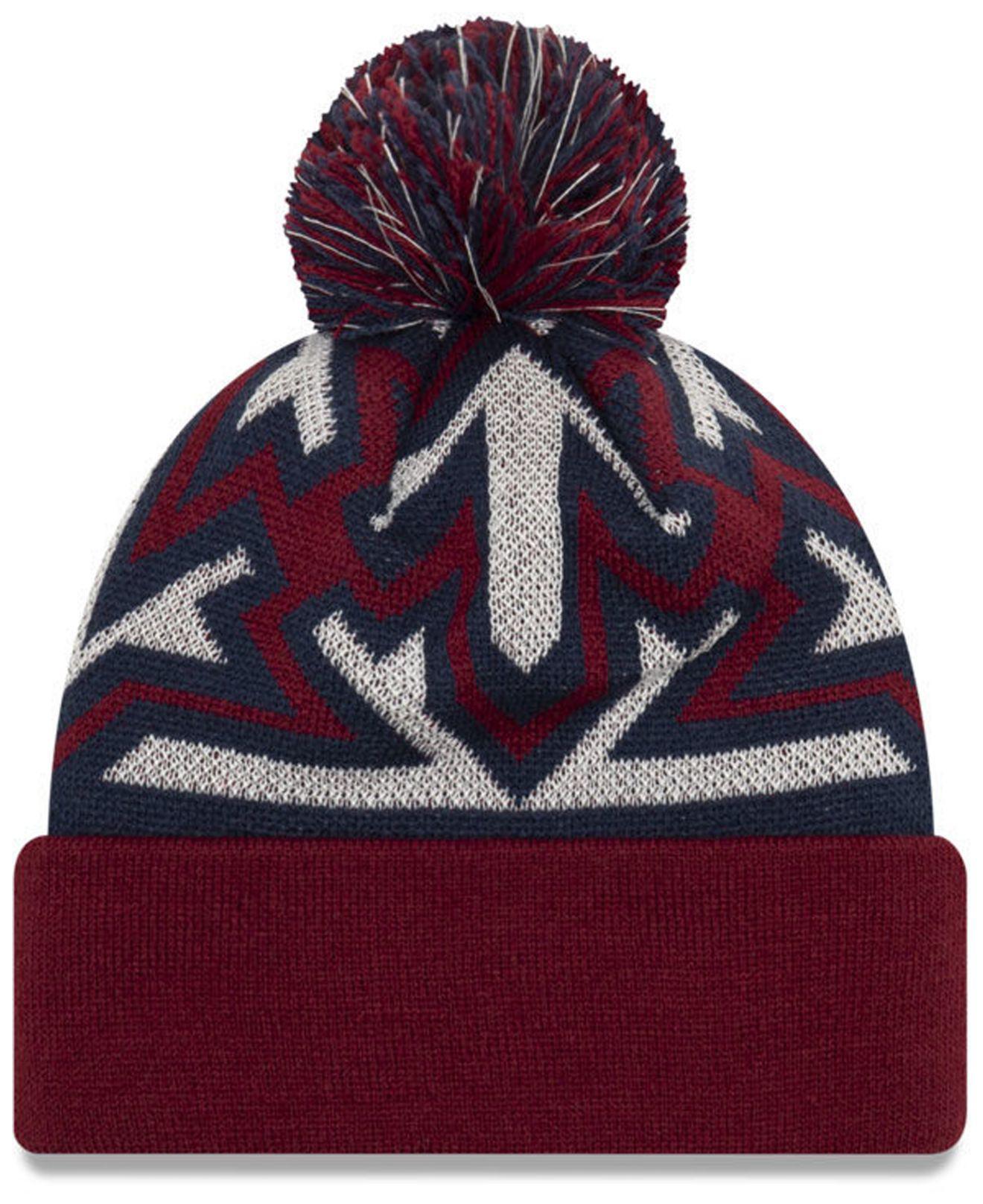 best website 5d50a 95861 KTZ Cleveland Cavaliers Glowflake Cuff Knit Hat in Blue for Men - Lyst