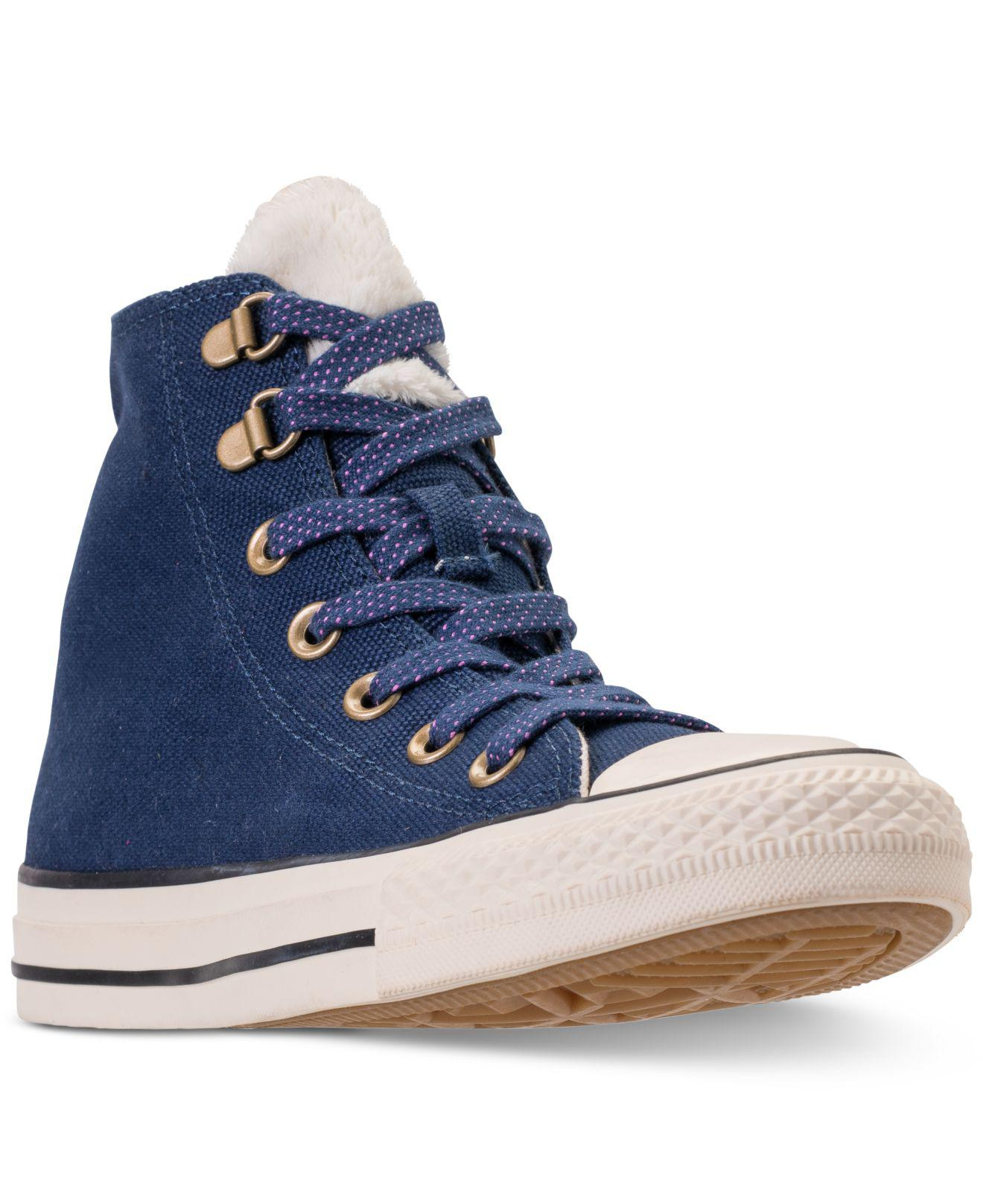 788d982d23e7 Lyst - Converse Chuck Taylor All Star Furst Love High Top Casual ...