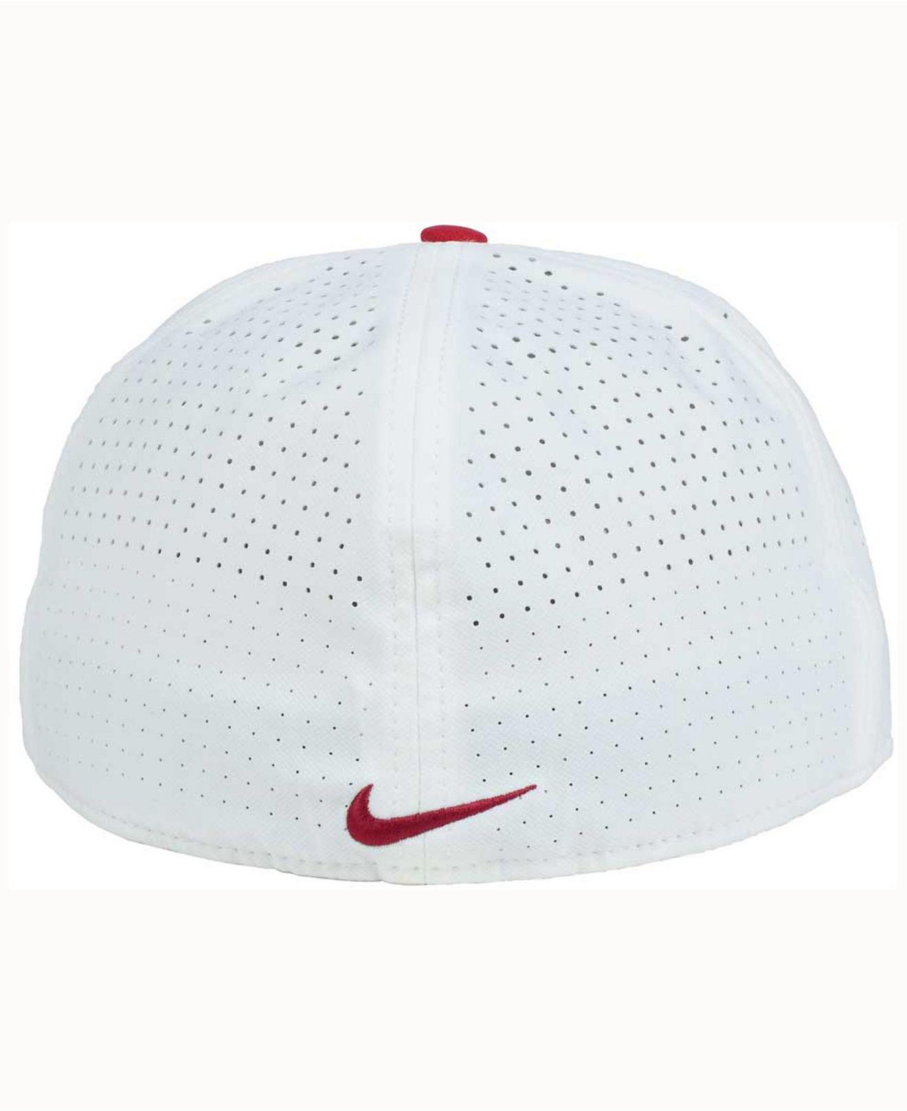 pretty nice 1d583 8ce75 Nike Oklahoma Sooners True Vapor Fitted Cap in Red for Men - Lyst