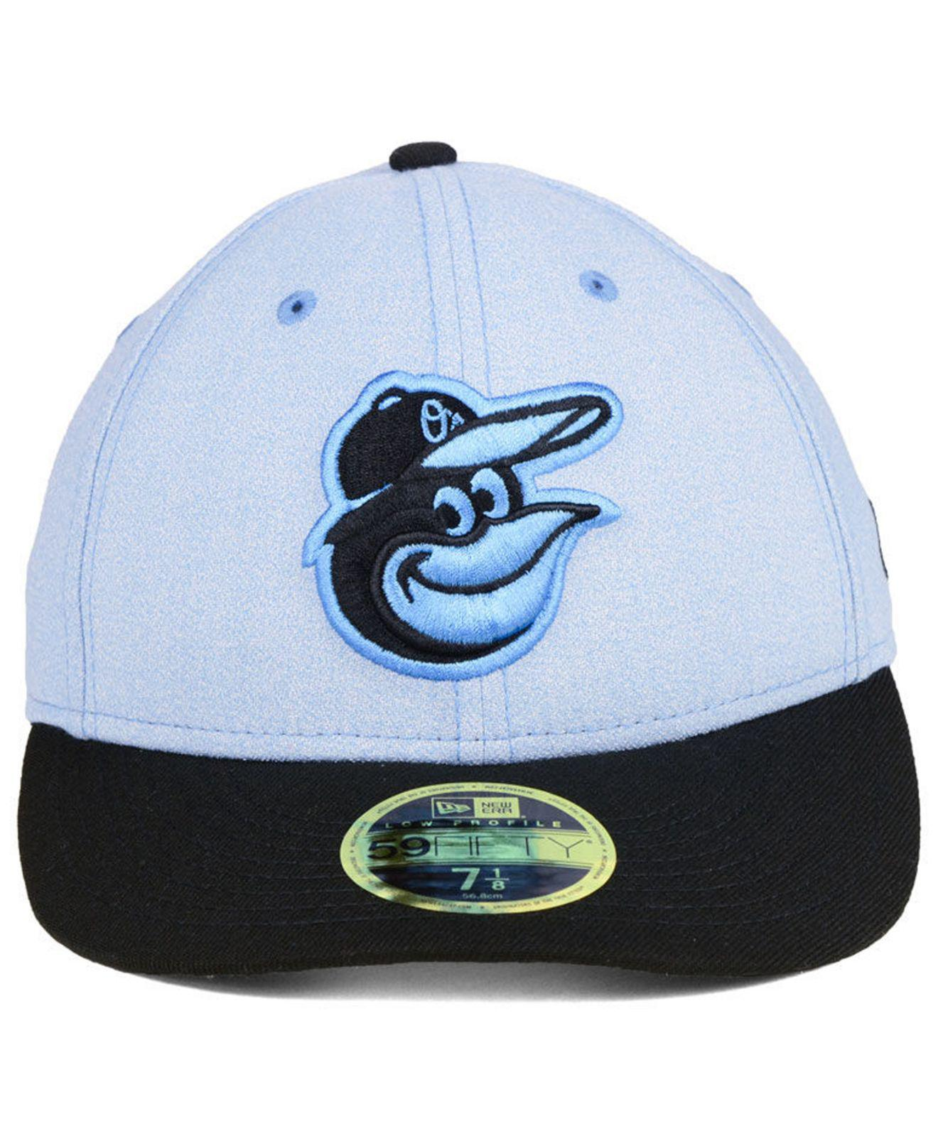 huge selection of b0e1a 6507d ... buy lyst ktz baltimore orioles fathers day low profile 59fifty cap in  blue for men c61c4