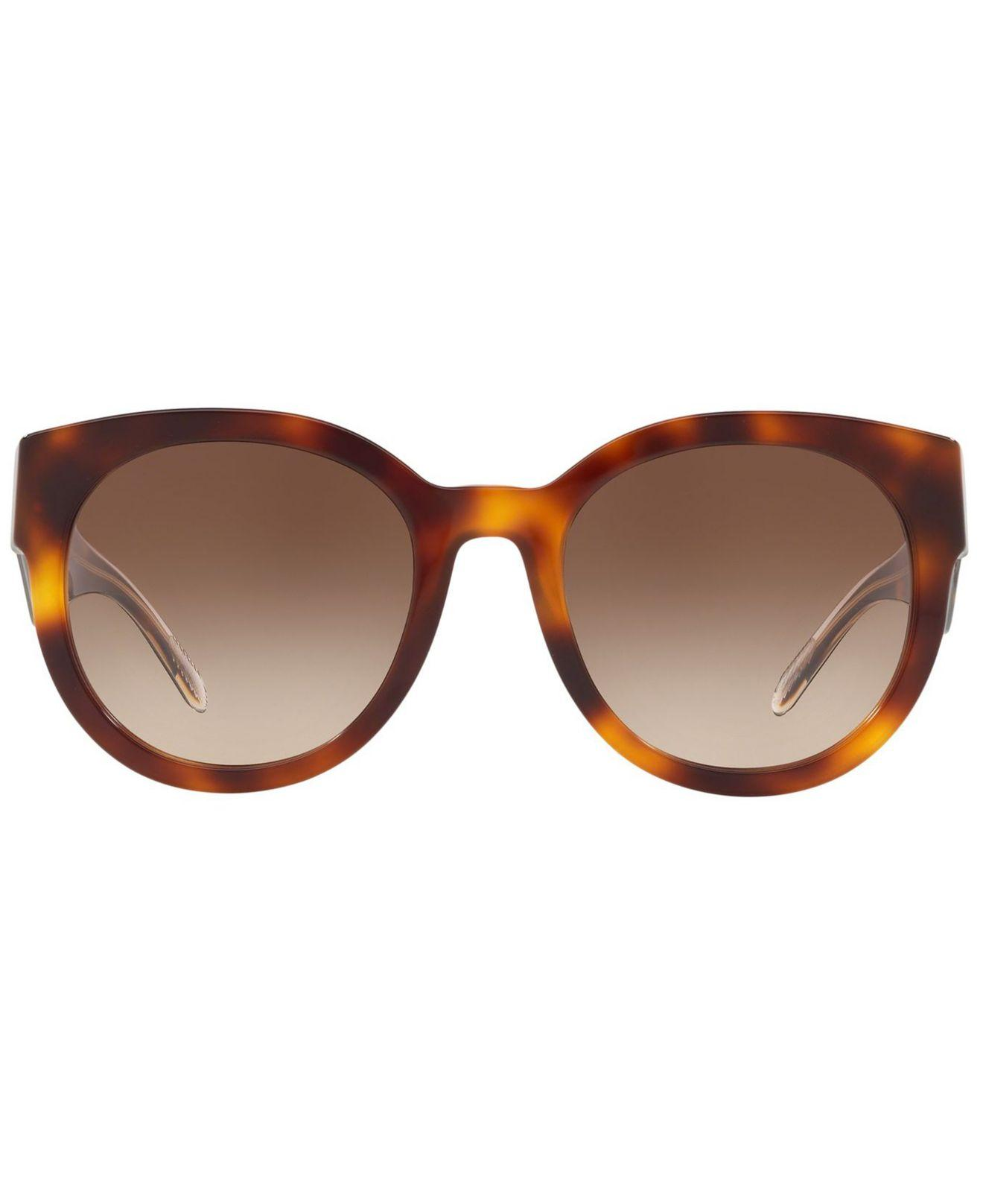 3124aa93a Lyst - Burberry Sunglasses, Be4260 54 in Brown