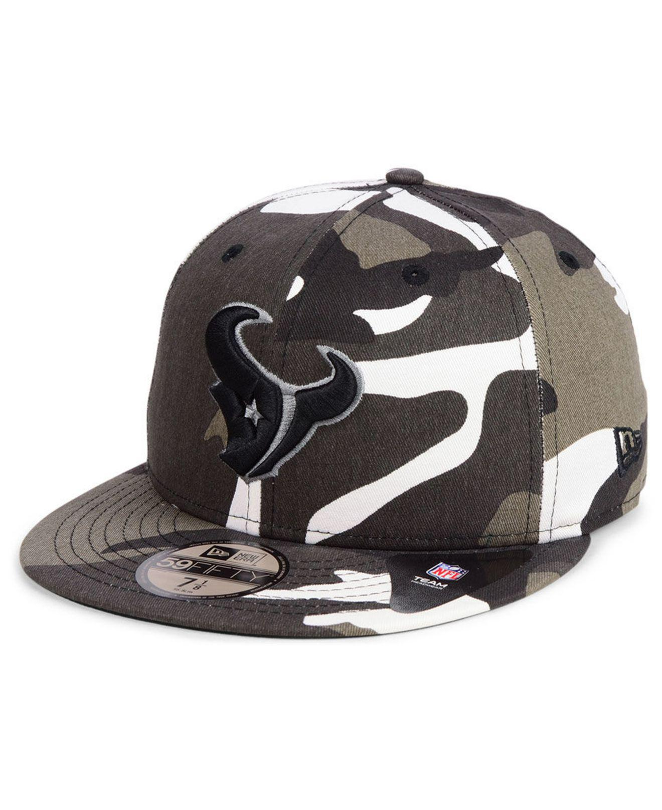 outlet store 125d8 c78d3 Lyst - KTZ Houston Texans Urban Prism Pack 59fifty-fitted Cap for Men