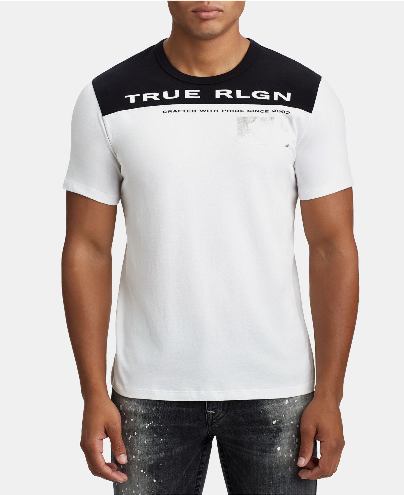 39f7c24cd Lyst - True Religion Mens Logo Graphic T-shirt in White for Men