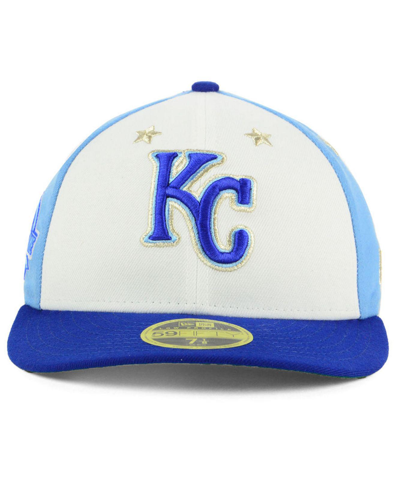 half off b6580 4822b ... low price lyst ktz kansas city royals all star game patch low profile  59fifty fitted cap