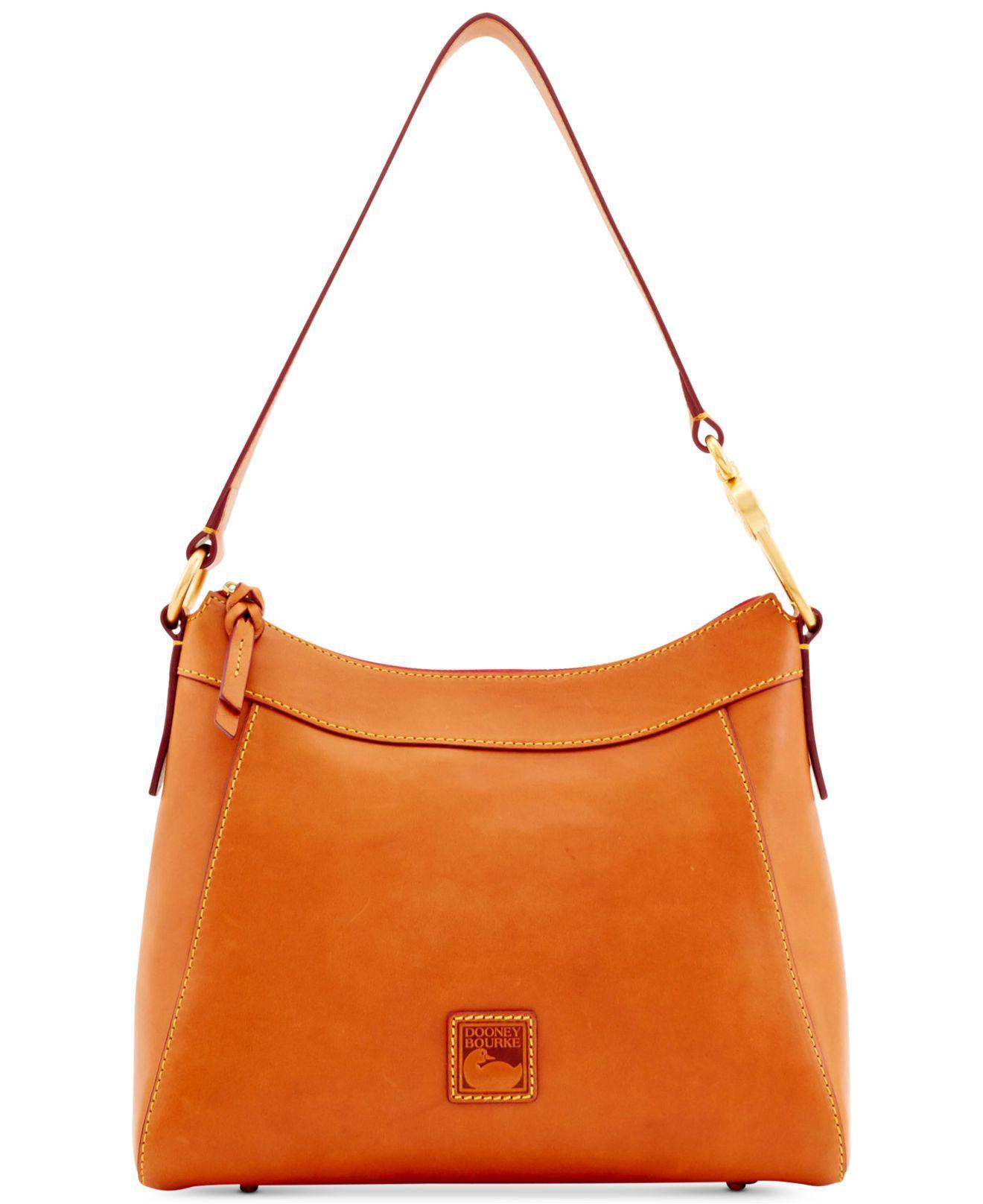 62e4802d909e Dooney   Bourke. Women s Natural Florentine Cassidy Small Leather Hobo