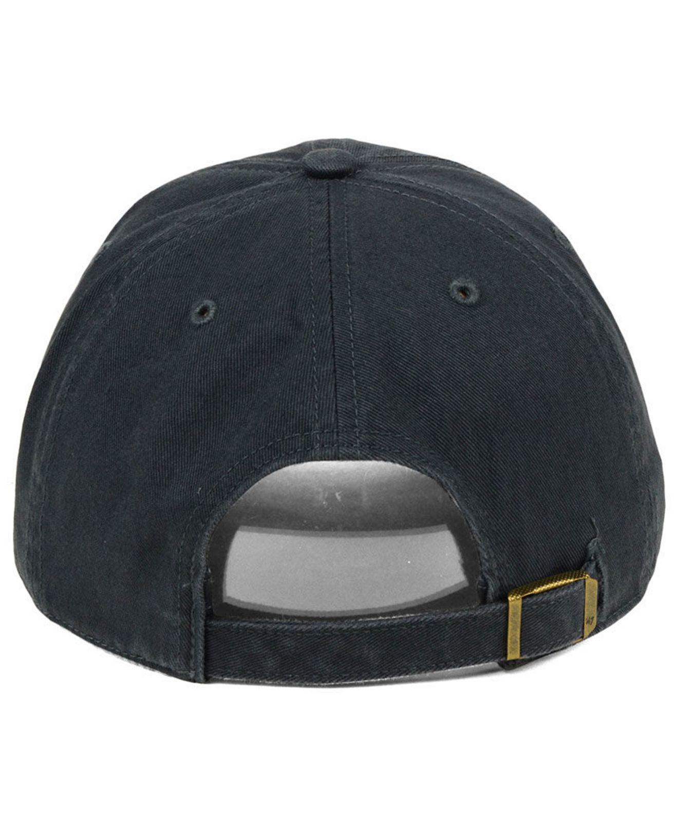f589c88a ... aliexpress 47 brand blue pittsburgh panthers double out clean up cap  for men lyst. view