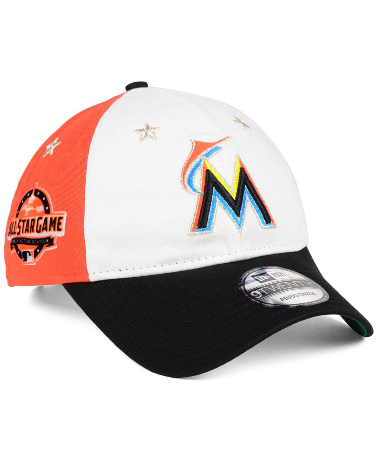 KTZ - Black Miami Marlins All Star Game 9twenty Strapback Cap 2018 for Men  - Lyst. View fullscreen 69b4a4d8c52