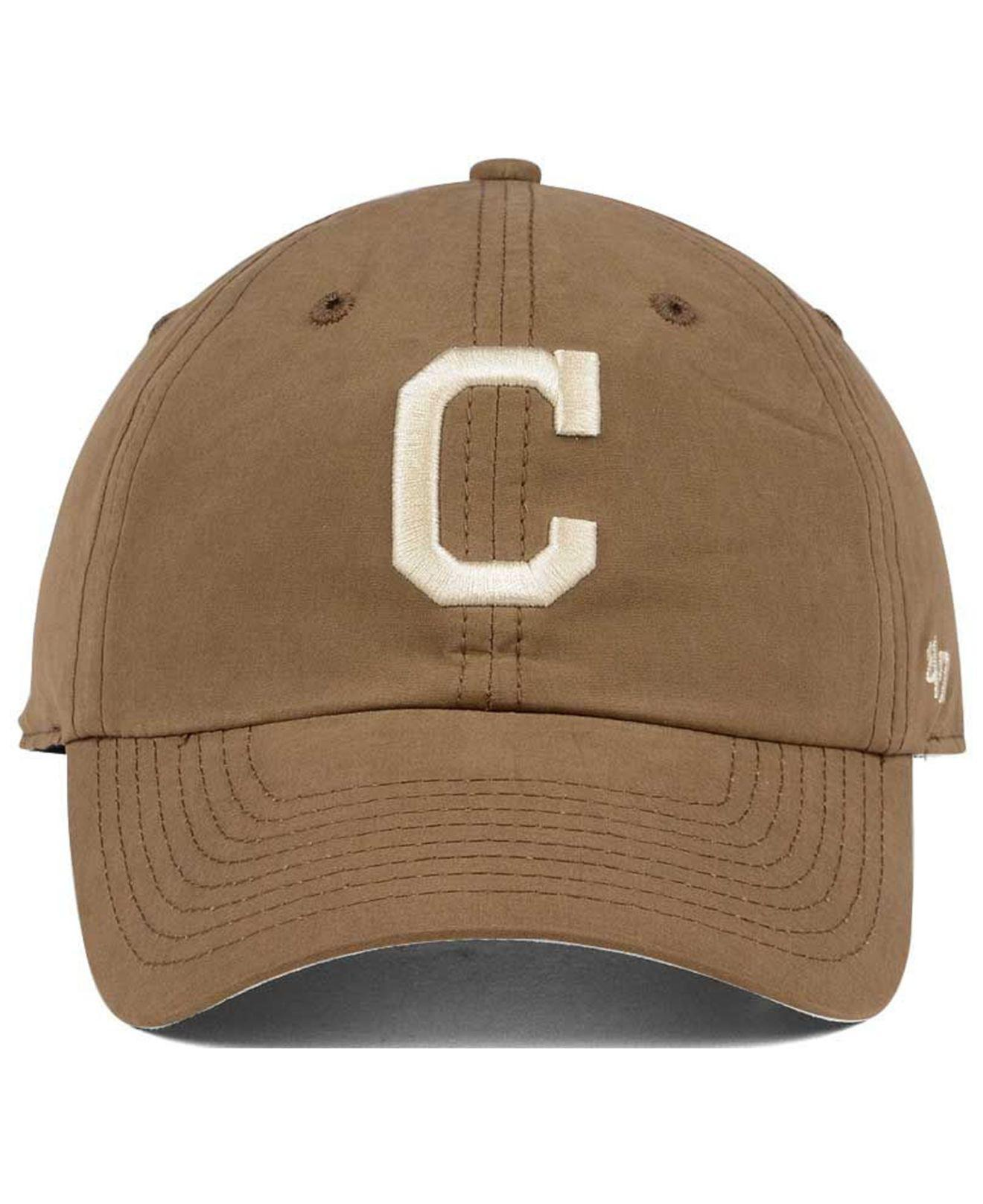 lowest price a0fb9 82b66 ... uk lyst 47 brand harvest clean up cap in brown for men 5fcf7 d888f