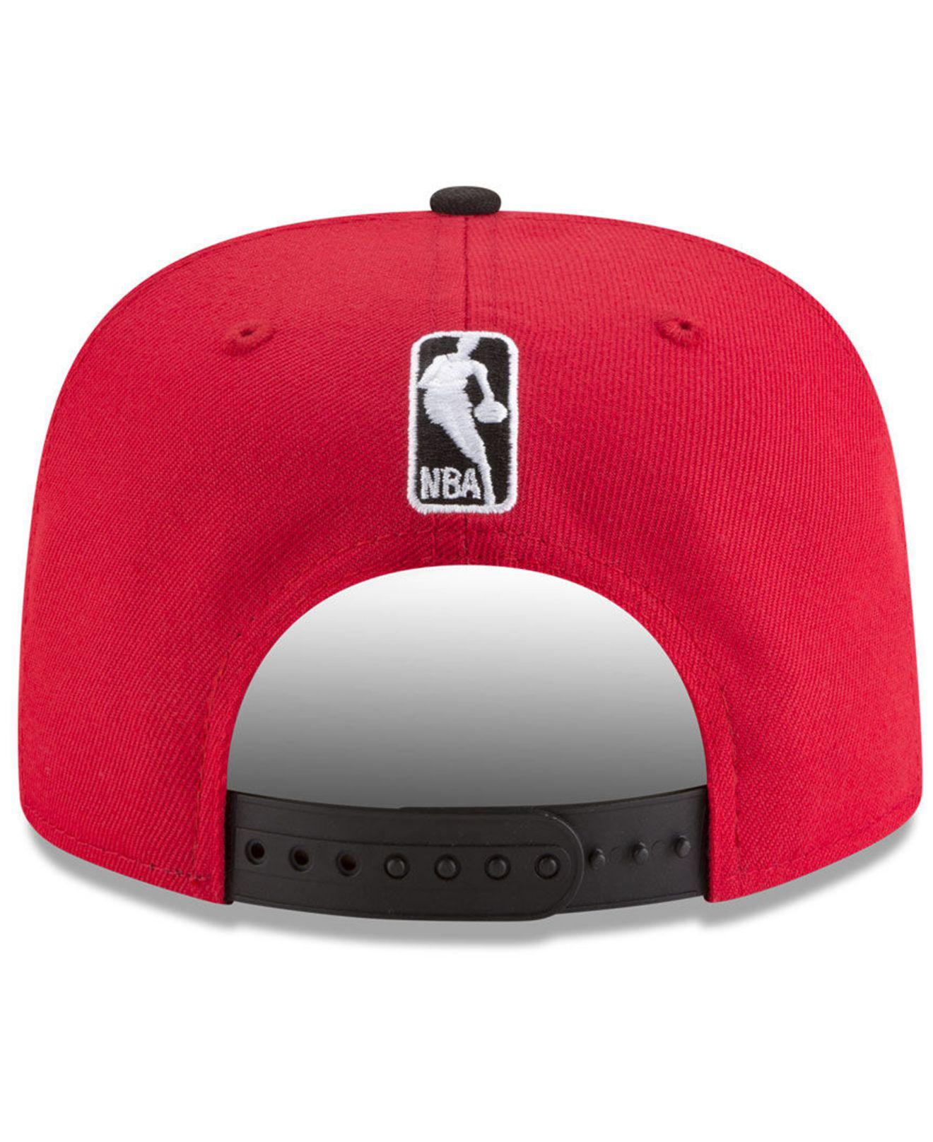 1f8c0b783ac ... Portland Trail Blazers Retro Tail 9fifty Snapback Cap for Men - Lyst.  View fullscreen