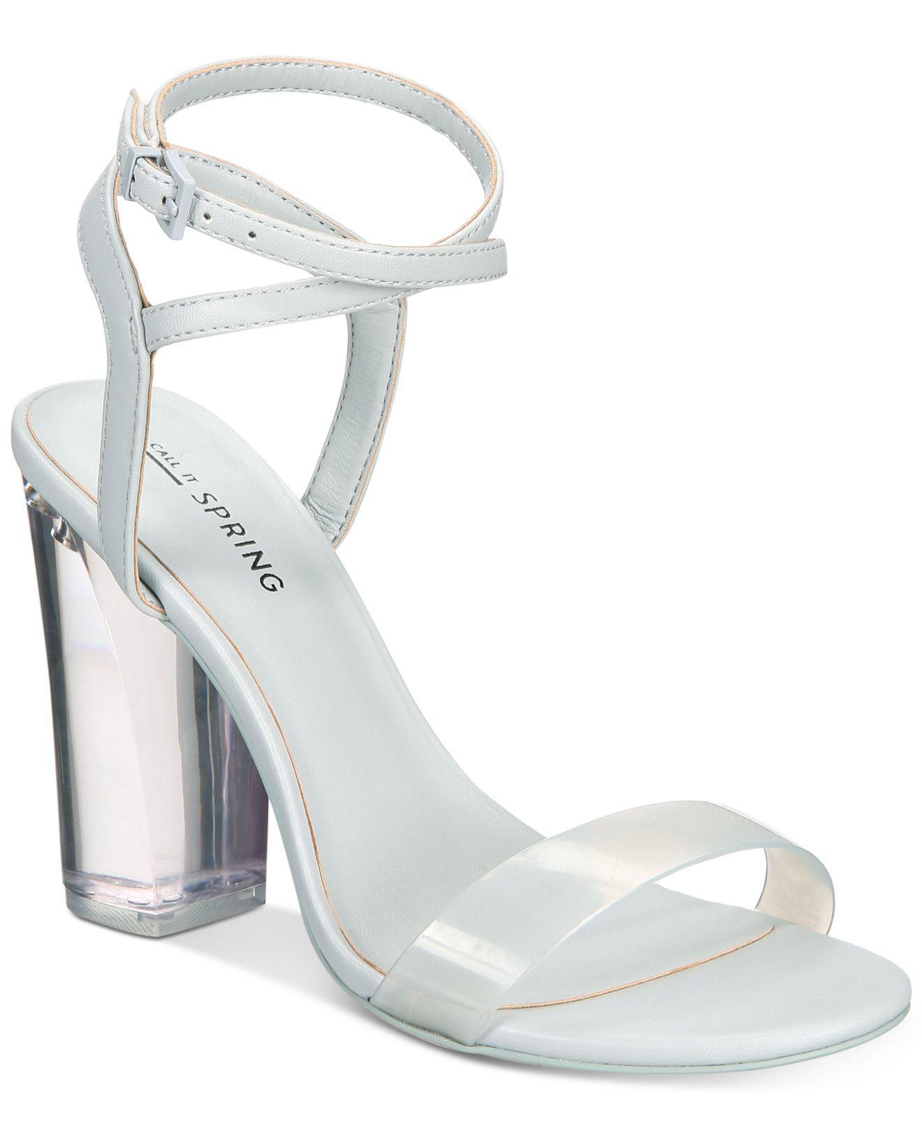 Call it Spring OCALIDE - High heeled sandals - bone PezwTV