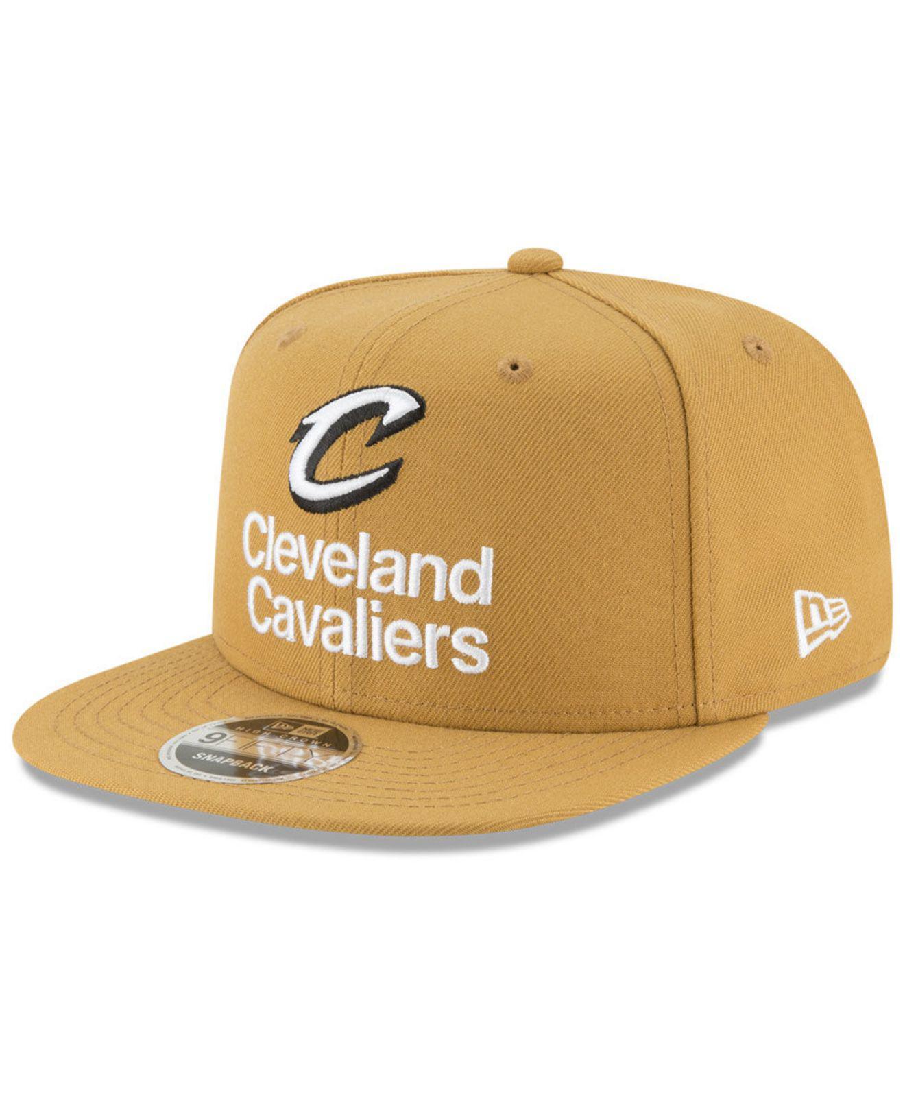 7c80defe9d0 Lyst - Ktz Cleveland Cavaliers Retro Basic 9fifty Snapback Cap for Men