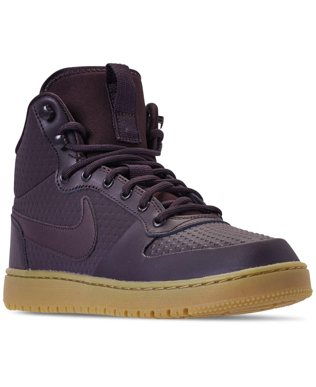 f37136f86bf Lyst - Nike Ebernon Mid Winter Casual Sneakers From Finish Line in ...