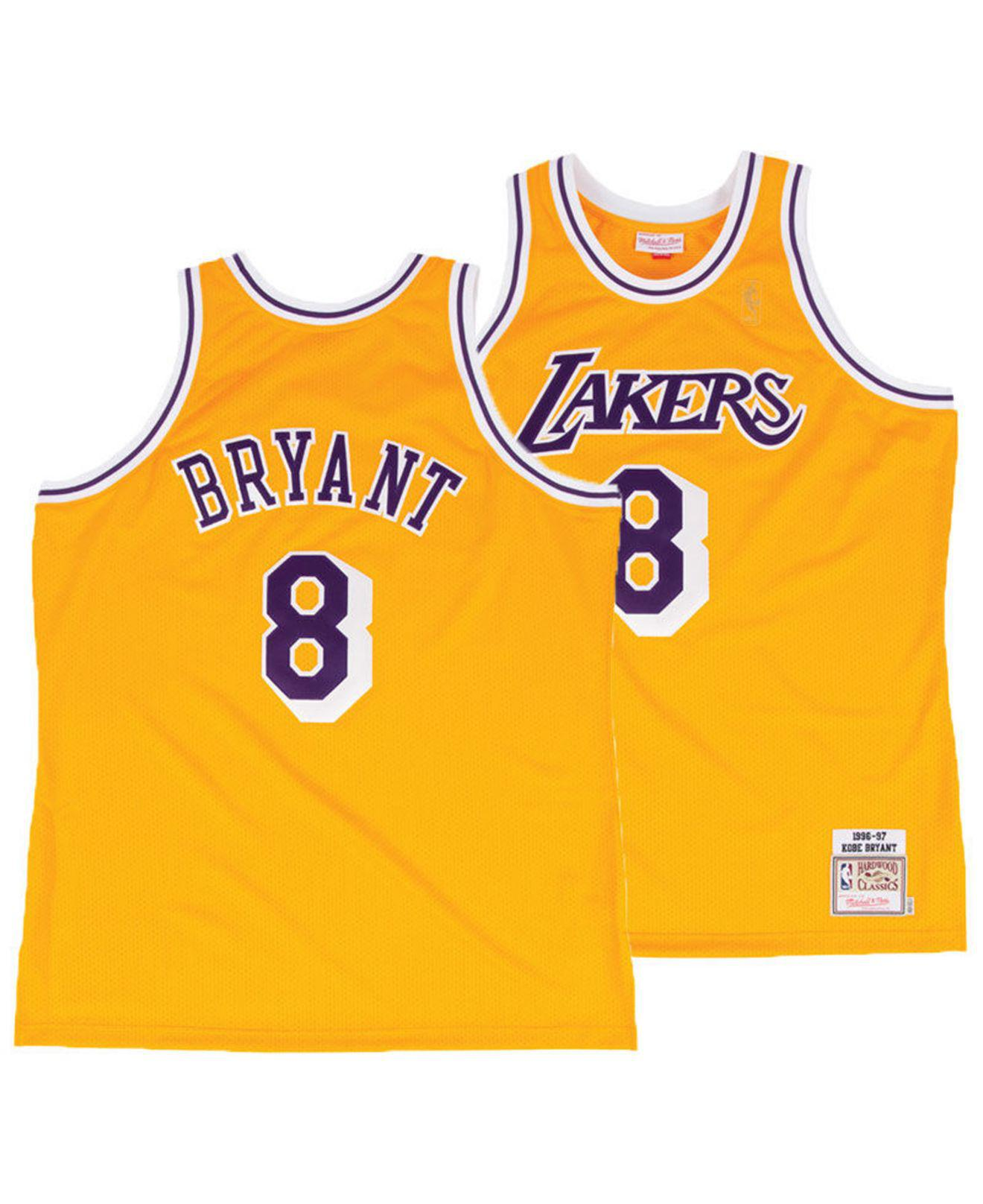 d5481ae7ae8 Lyst - Mitchell   Ness Kobe Bryant Los Angeles Lakers Authentic ...