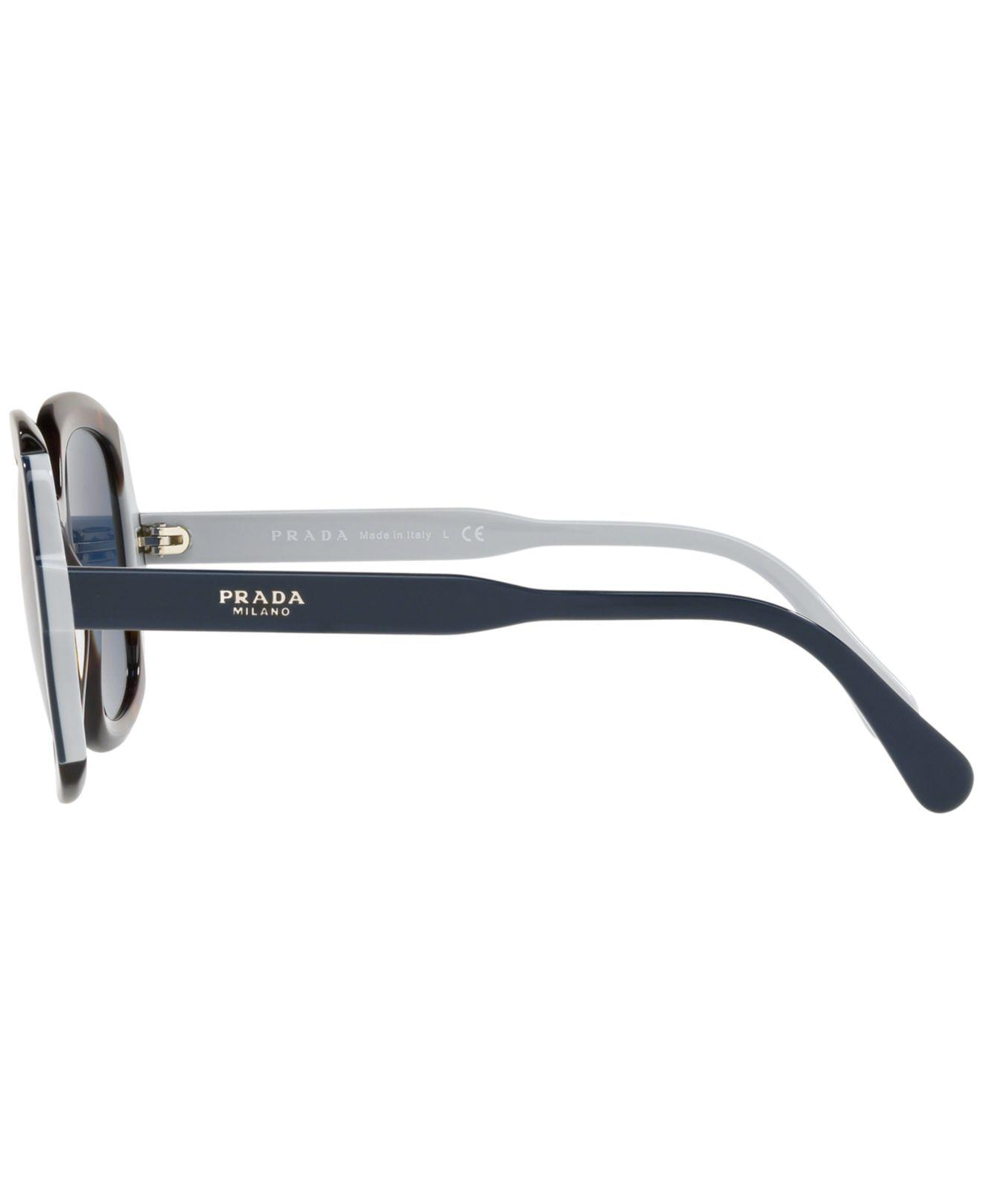 6d1ac6c34e18 Lyst - Prada Sunglasses