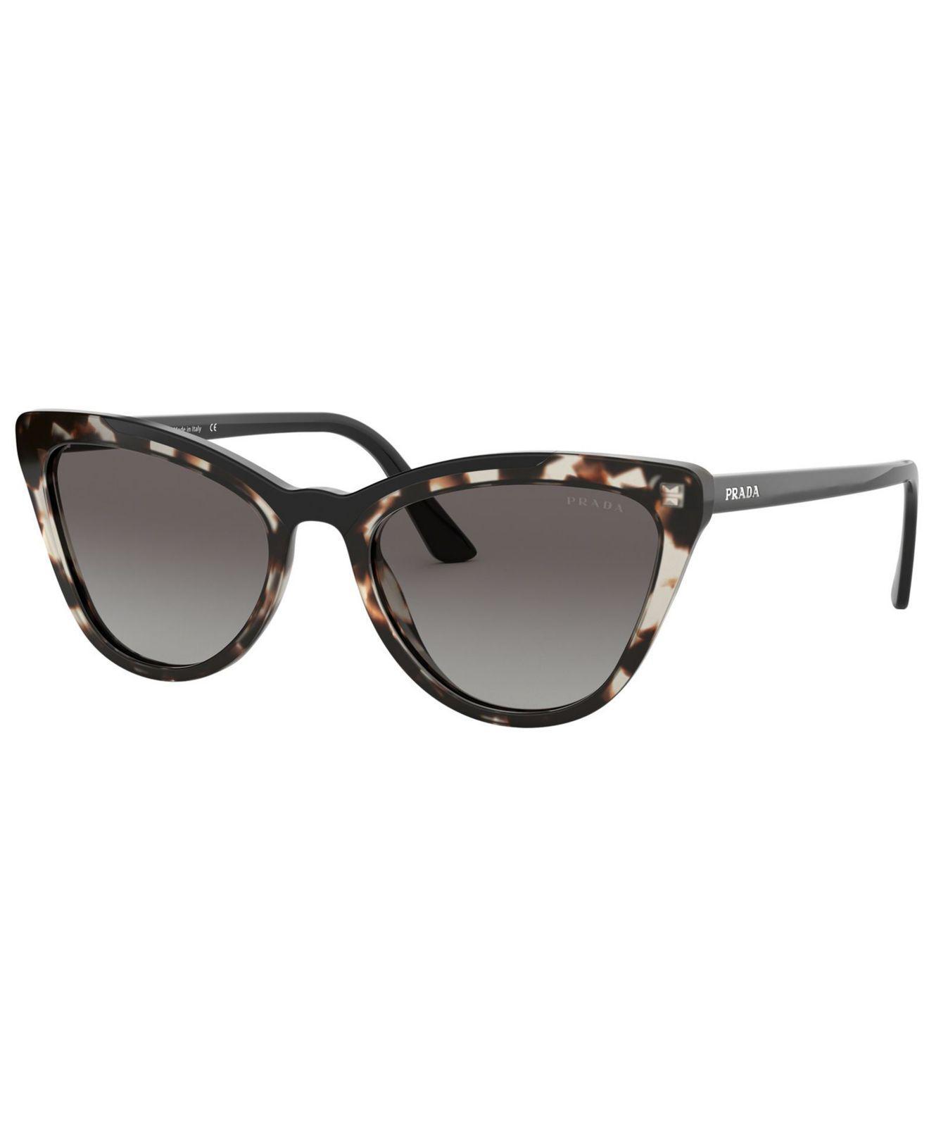 a092900e67aa Prada Sunglasses, Pr 01vs 56 - Lyst