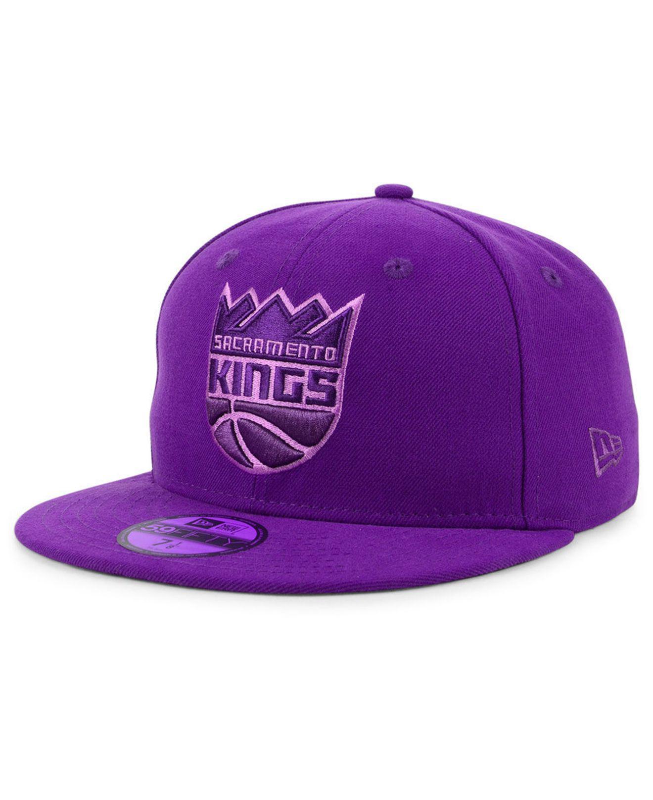 ... mitchell ness nba xl logo snapback e478a f08e6  canada ktz. purple sacramento  kings color prism pack 59fifty fitted cap b9a34 6627a 13a0e8674ea4