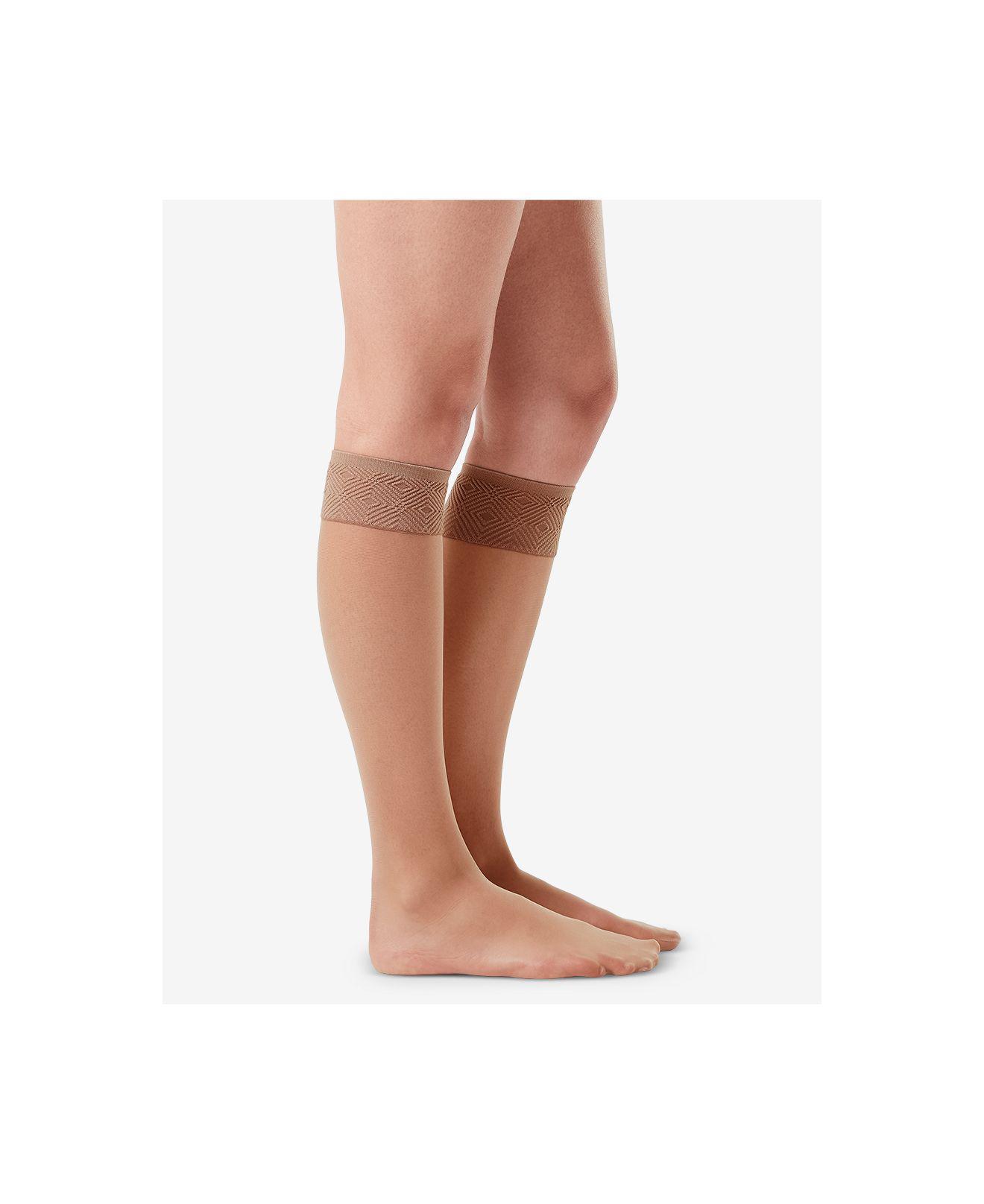 64a61005cde Lyst - Spanx ® Hi-knees Knee-high Socks