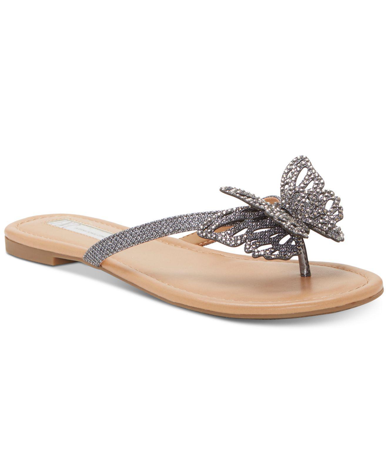 4a081f7dd05374 INC International Concepts. Women s Marsha Butterfly Flip-flop Sandals ...