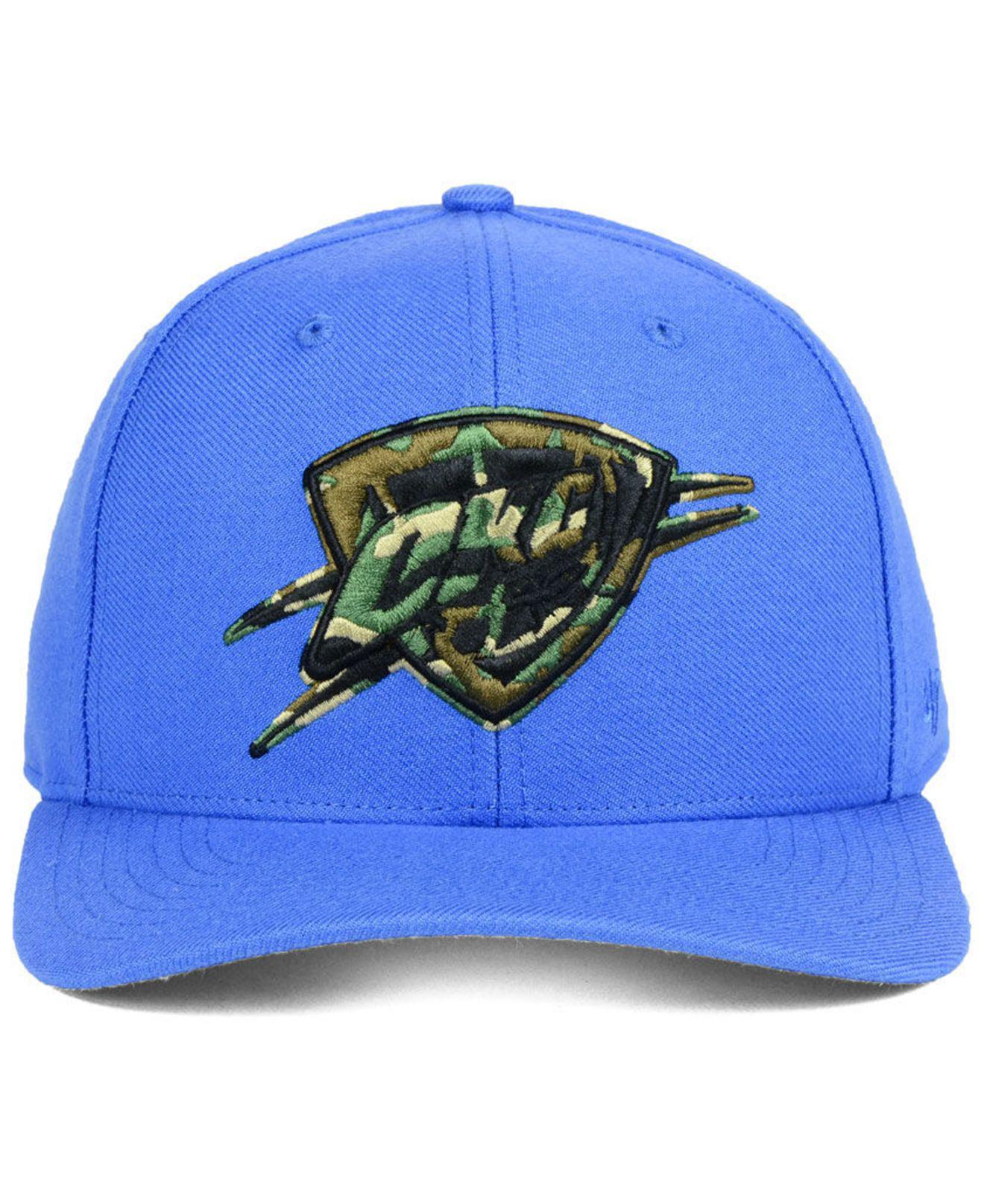 Lyst - 47 Brand Oklahoma City Thunder Camfill Mvp Cap in Blue for Men -  Save 35.483870967741936% 72274aa22d61