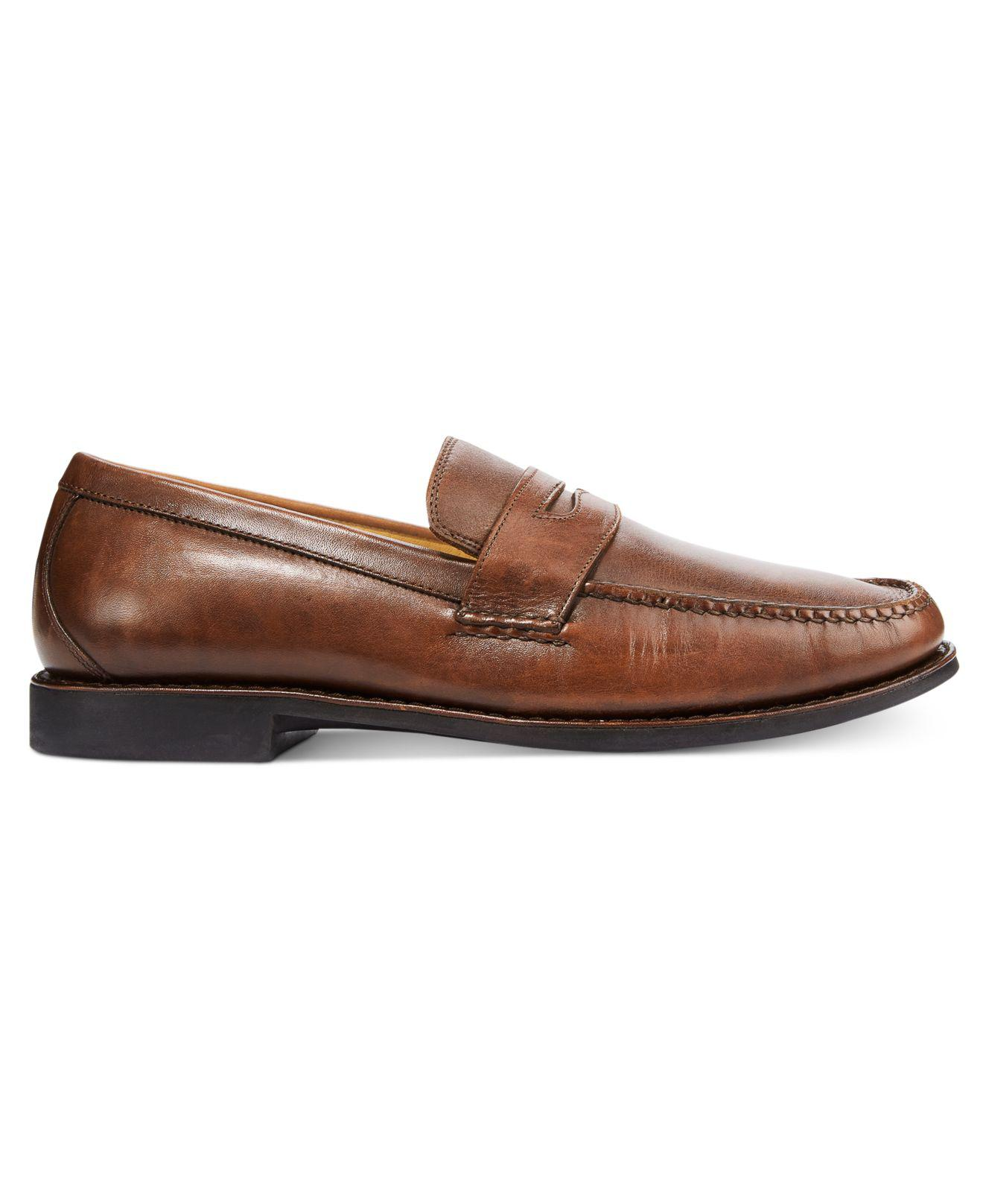 61e57a06131 Lyst - Johnston   Murphy Comfort Ainsworth Penny Loafer in Black for Men
