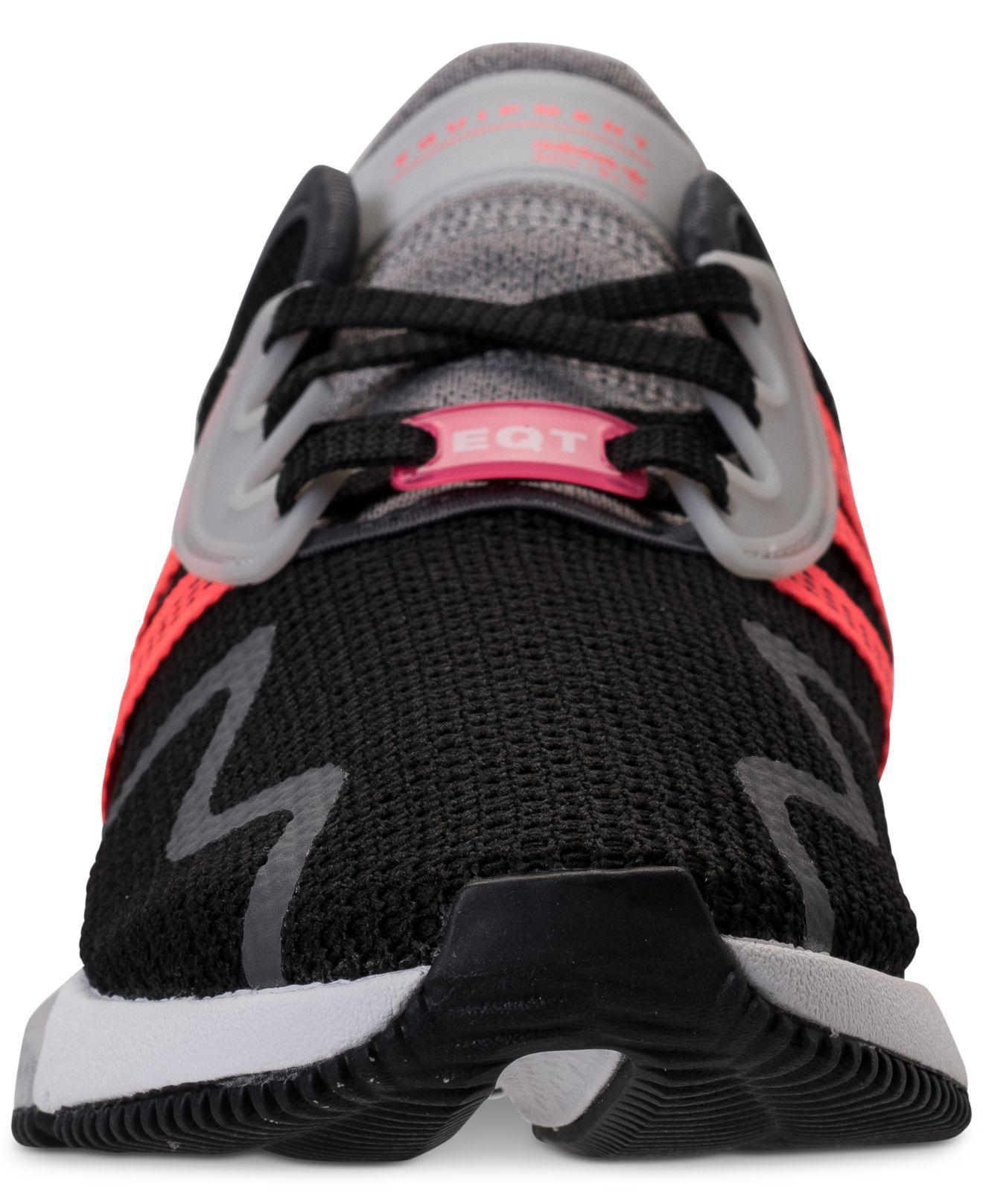 best service 07ae5 1c101 adidas-CBLACKSUBGRNFTWWHT-Originals-Eqt-Cushion-Adv -Casual-Sneakers-From-Finish-Line.jpeg